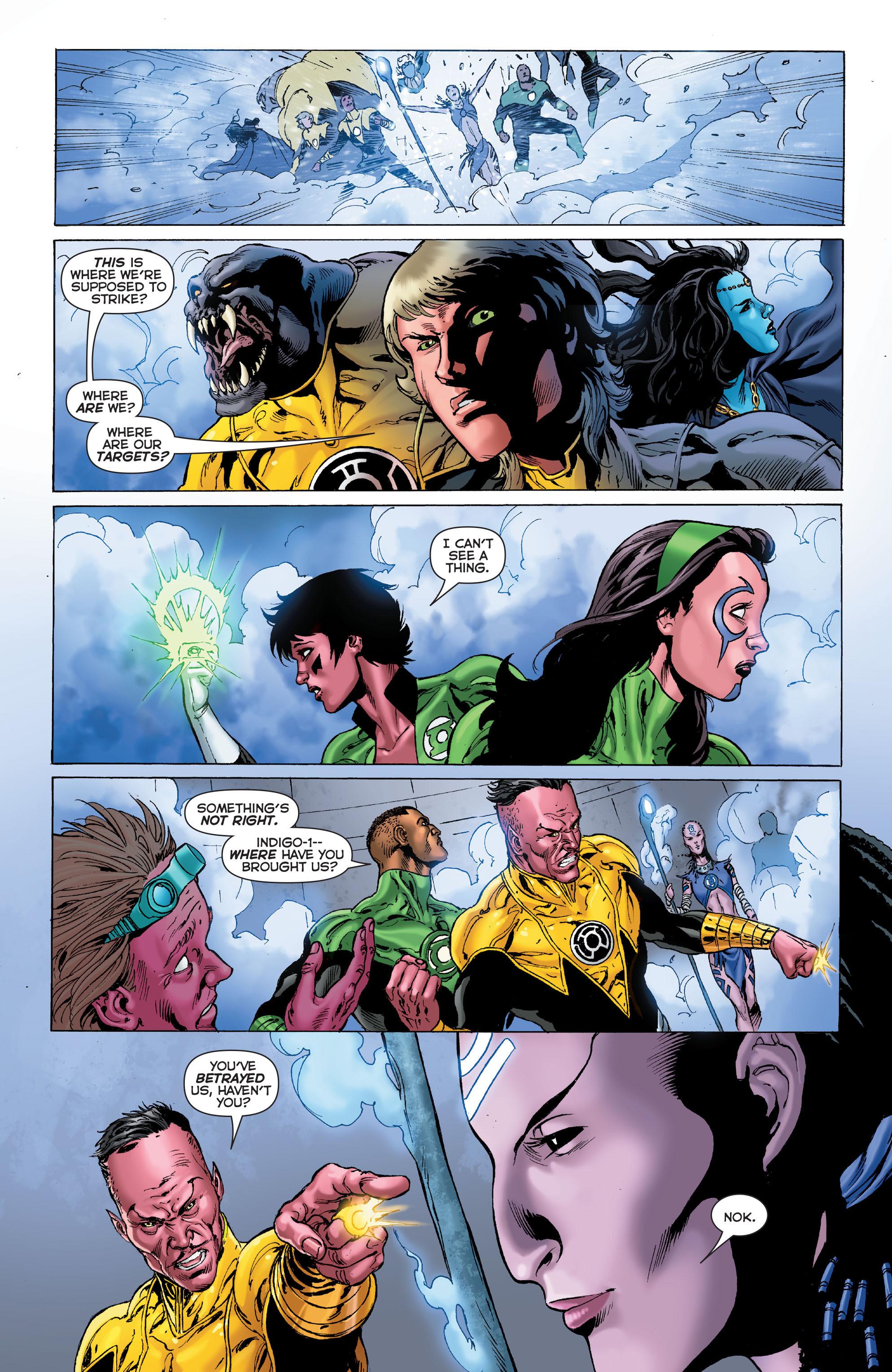 Read online Sinestro comic -  Issue #7 - 20