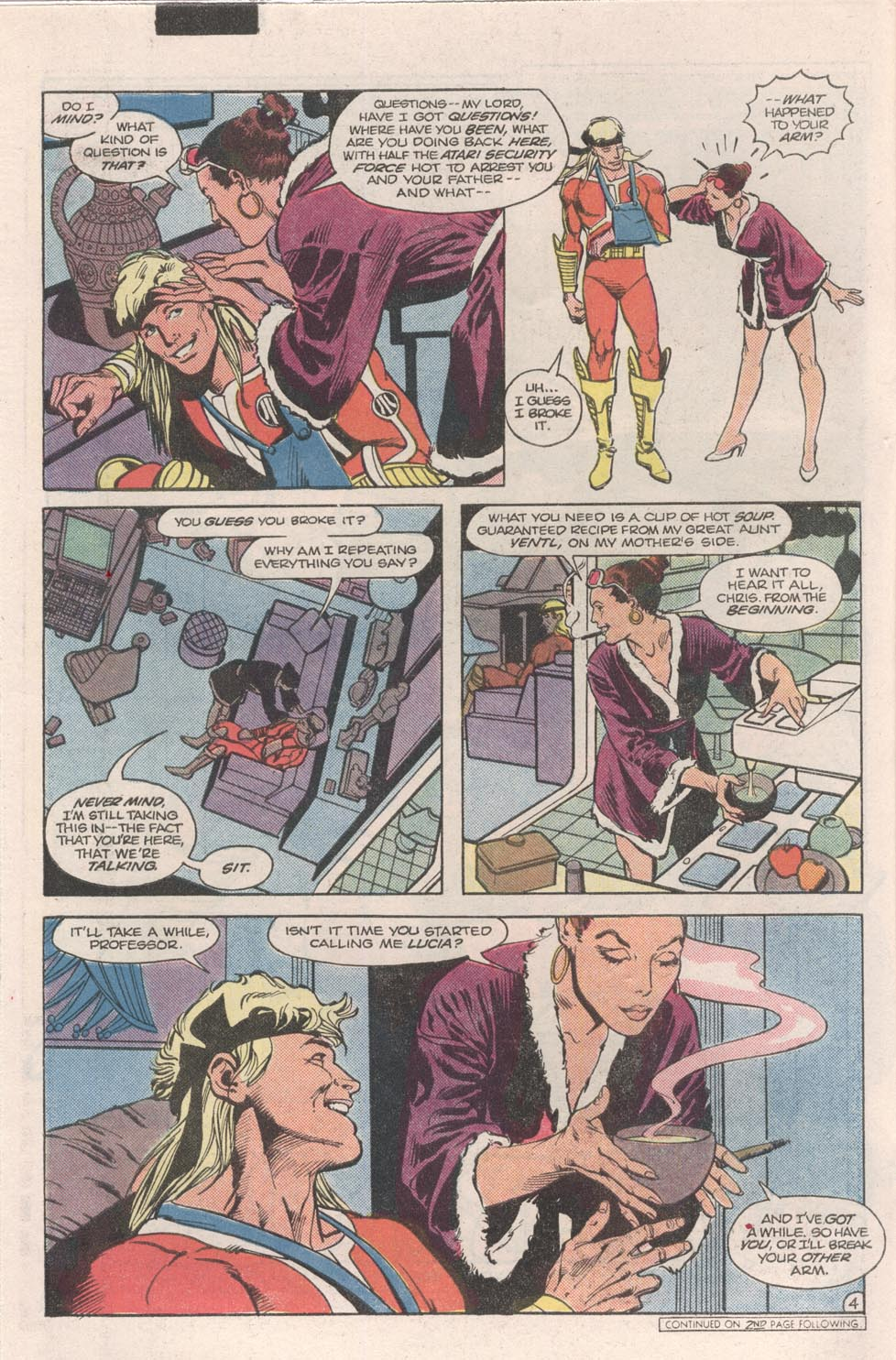 Read online Atari Force (1984) comic -  Issue #9 - 5