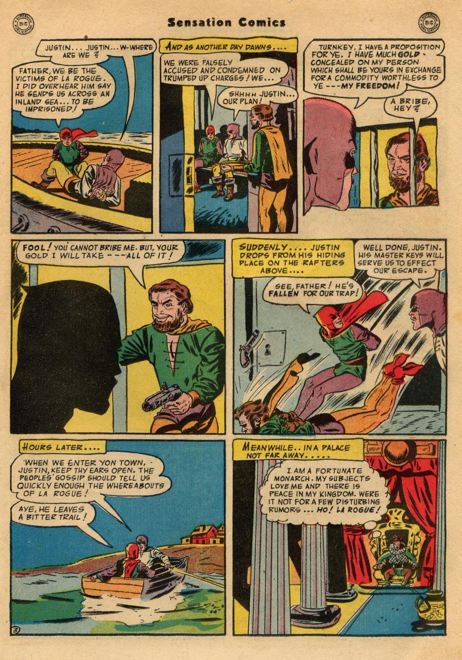 Read online Sensation (Mystery) Comics comic -  Issue #49 - 33