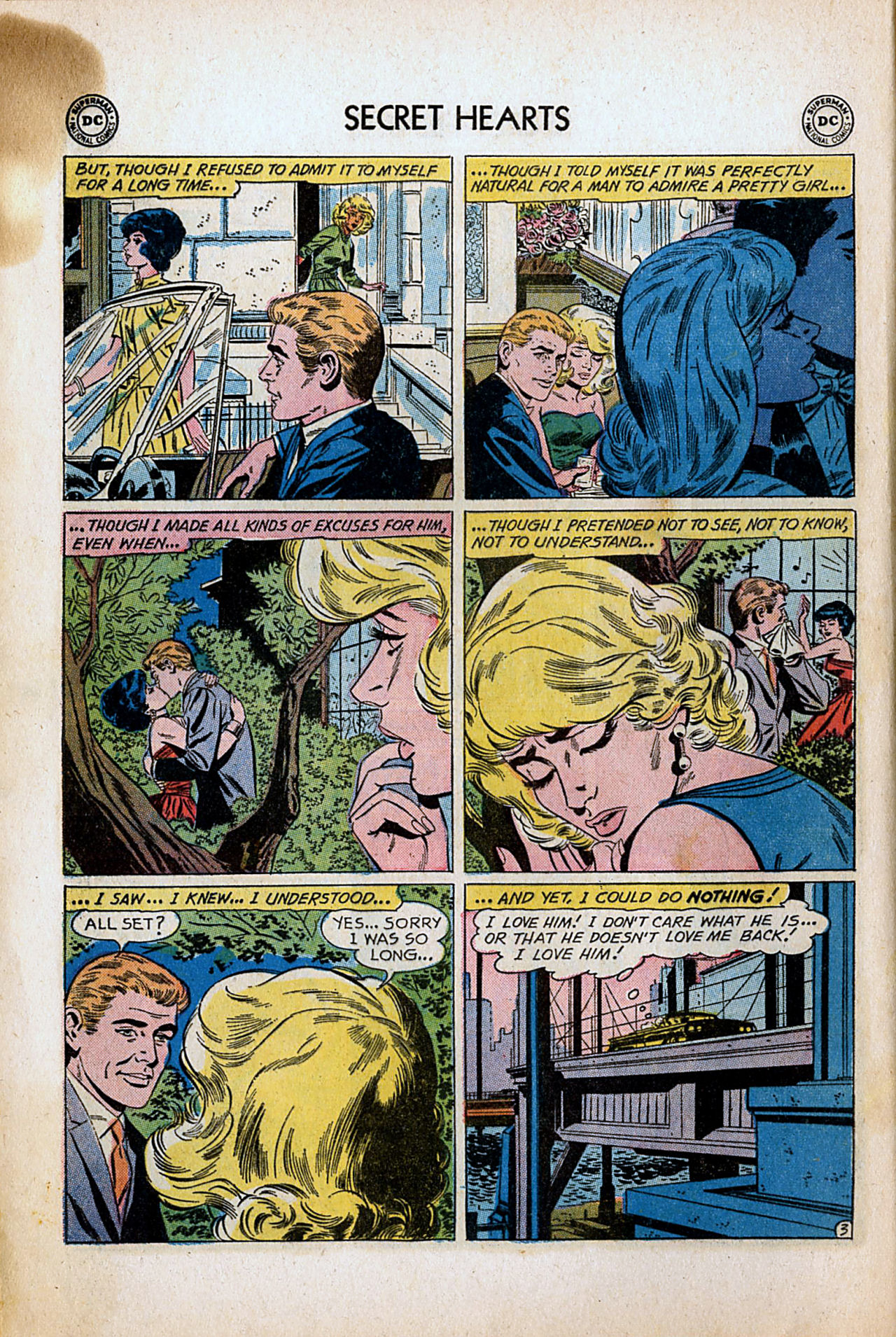 Read online Secret Hearts comic -  Issue #80 - 12
