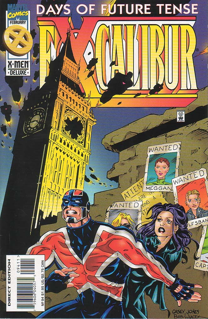 Excalibur (1988) issue 94 - Page 1