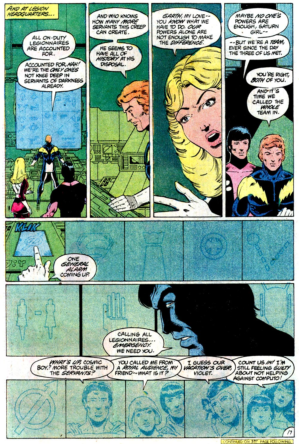Legion of Super-Heroes (1980) 292 Page 17