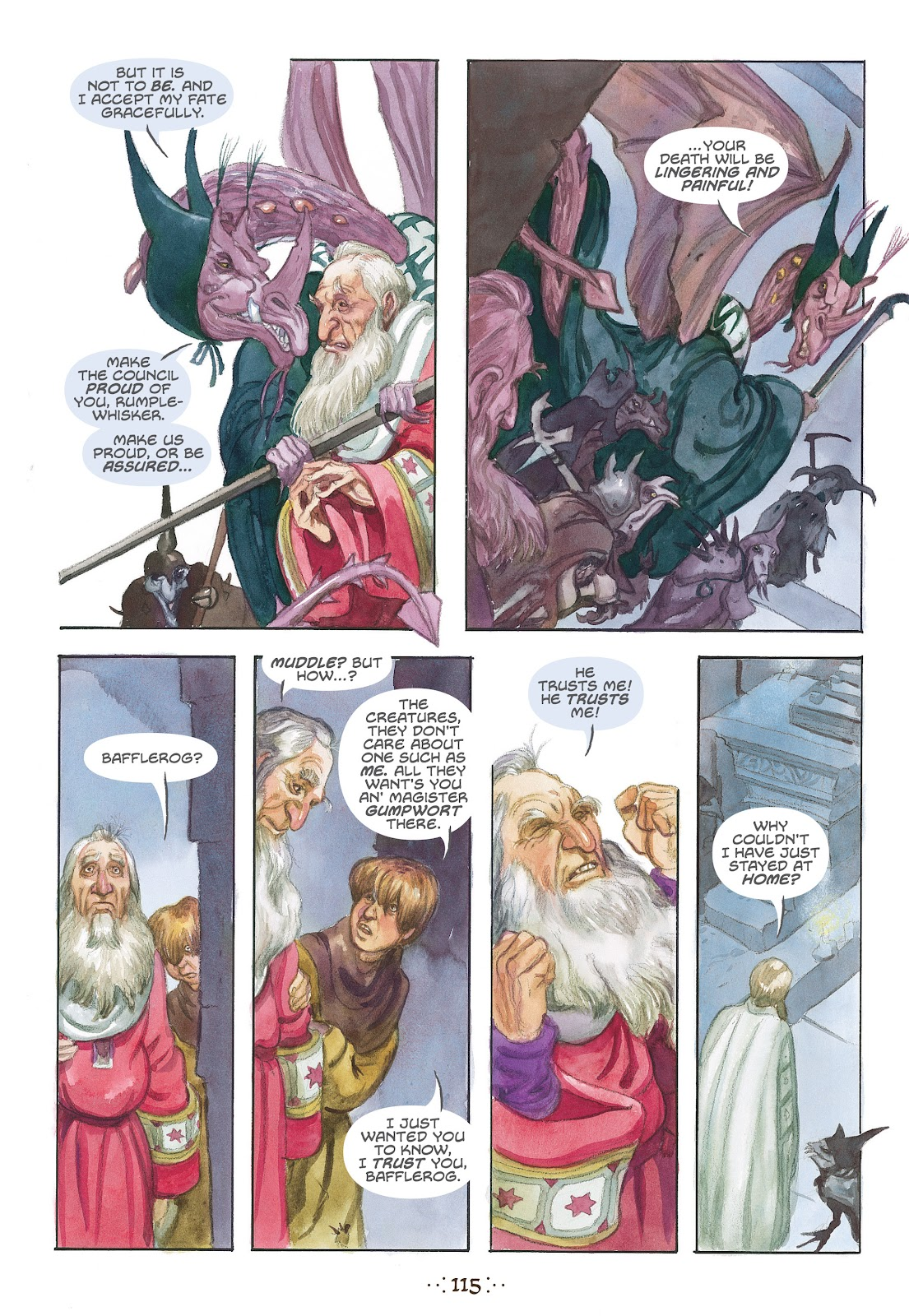 Read online The Wizard's Tale comic -  Issue # TPB - 109