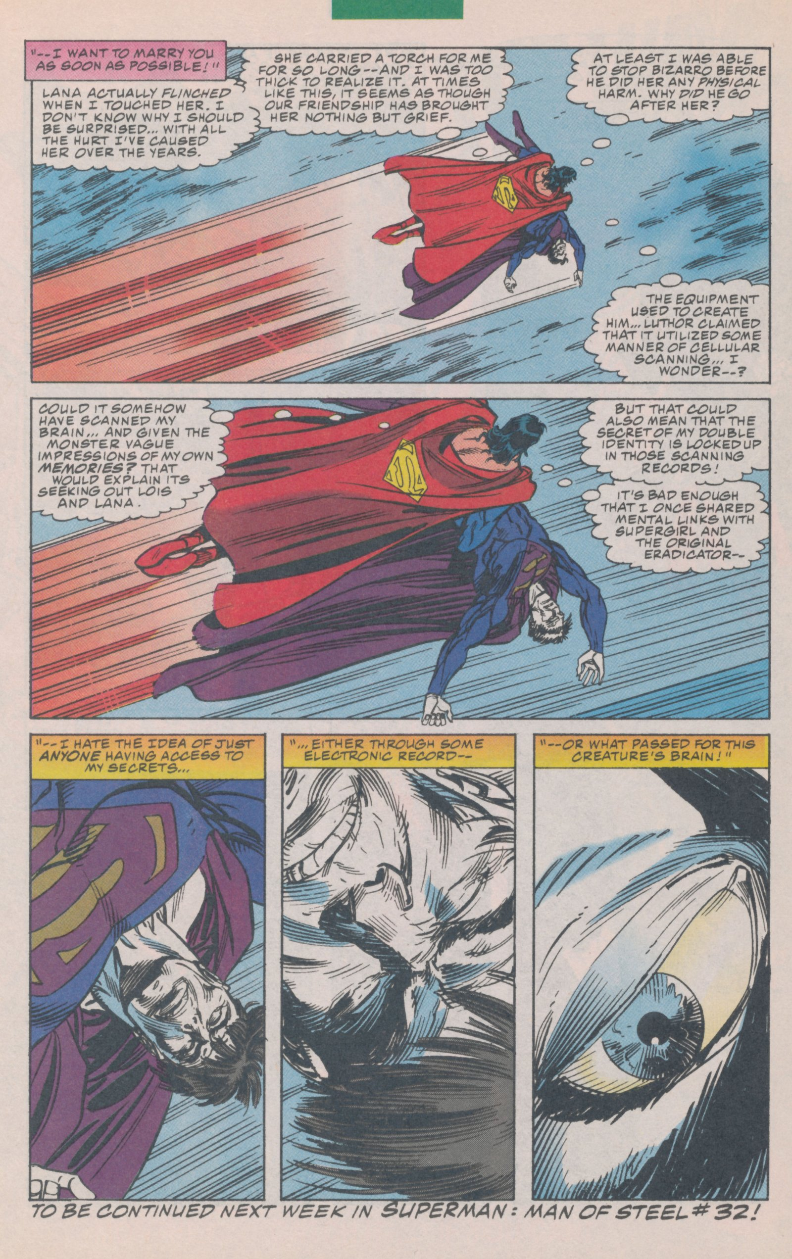 Read online Action Comics (1938) comic -  Issue #697 - 31