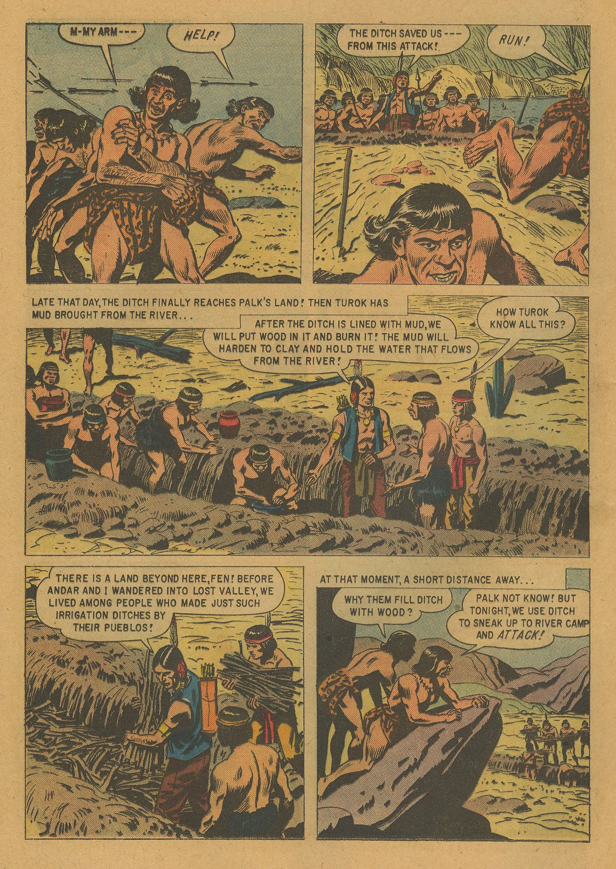 Read online Turok, Son of Stone comic -  Issue #21 - 12