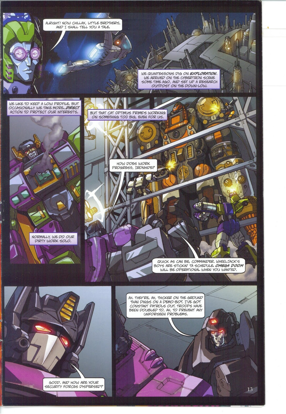 Read online Transformers: Collectors' Club comic -  Issue #27 - 13