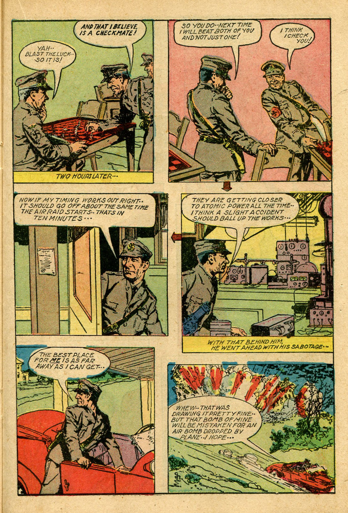 Read online Shadow Comics comic -  Issue #69 - 31