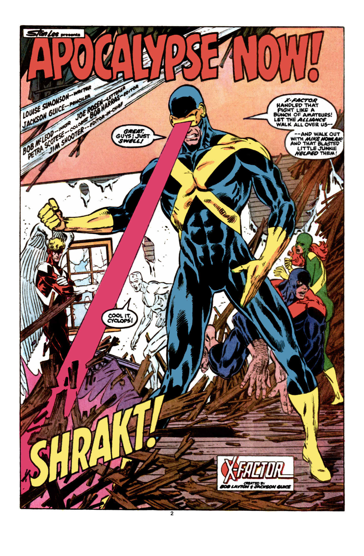 Read online X-Factor (1986) comic -  Issue #6 - 3