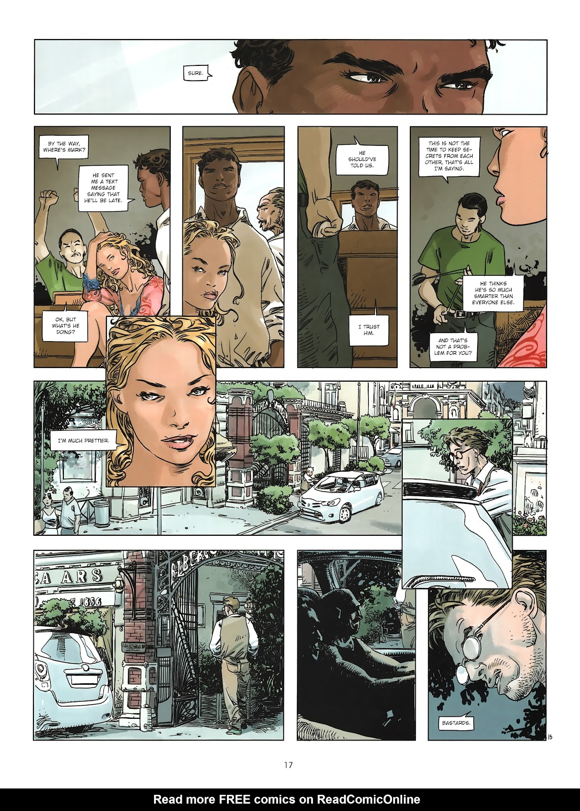 Read online Cutting Edge (2013) comic -  Issue #2 - 17