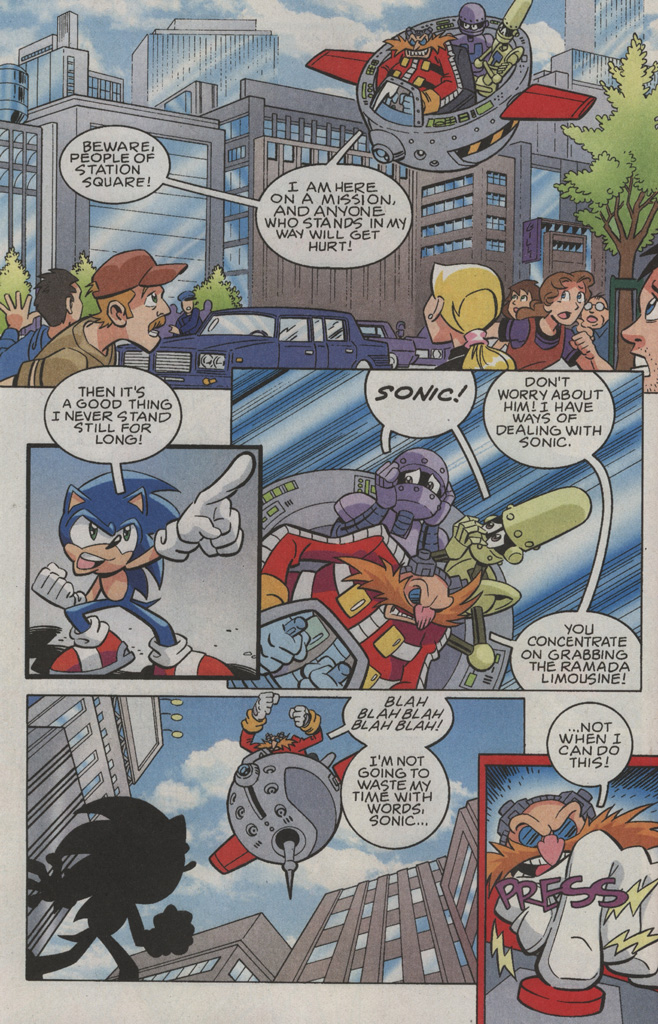 Read online Sonic X comic -  Issue #36 - 6