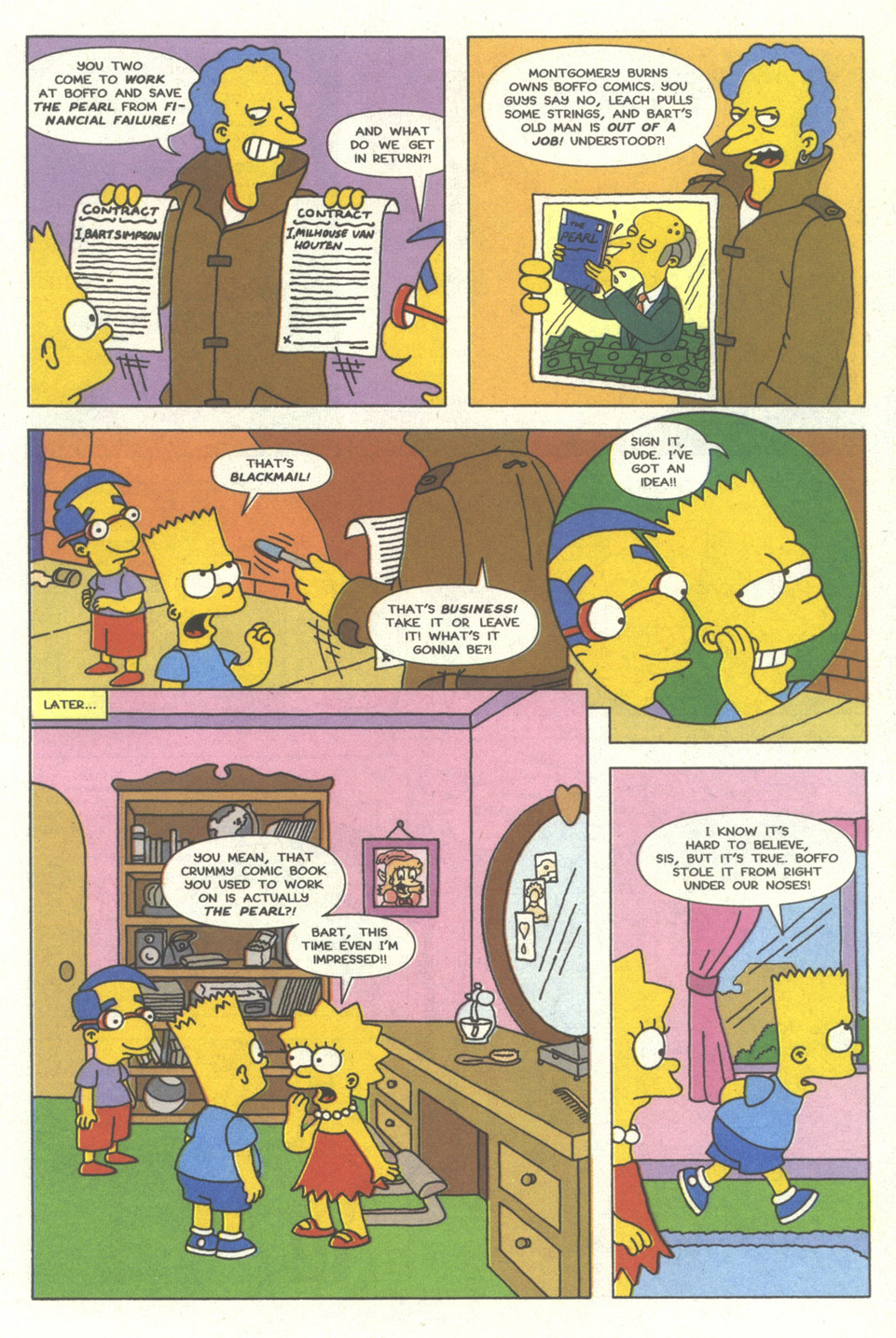 Read online Simpsons Comics comic -  Issue #13 - 18