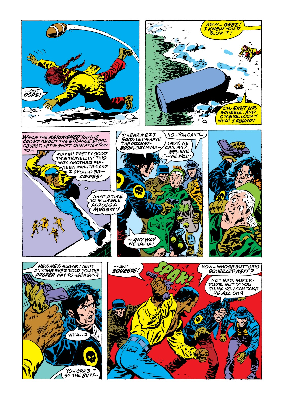 Read online Marvel Masterworks: Luke Cage, Power Man comic -  Issue # TPB 3 (Part 3) - 86