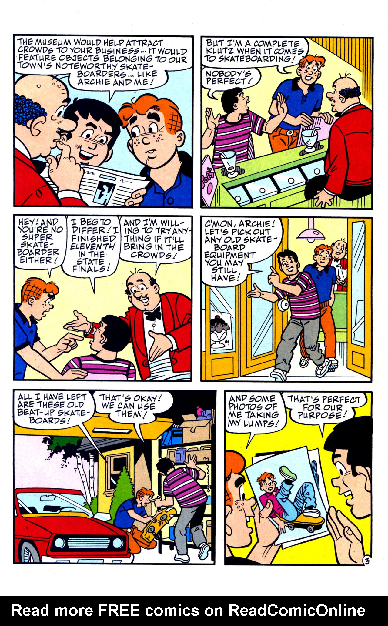 Read online Archie (1960) comic -  Issue #578 - 16