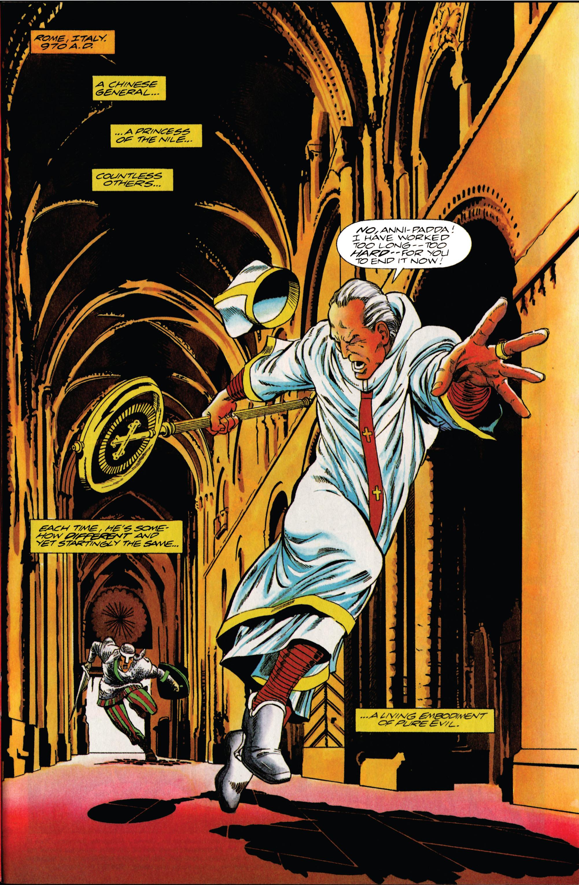 Read online Eternal Warrior (1992) comic -  Issue #13 - 2