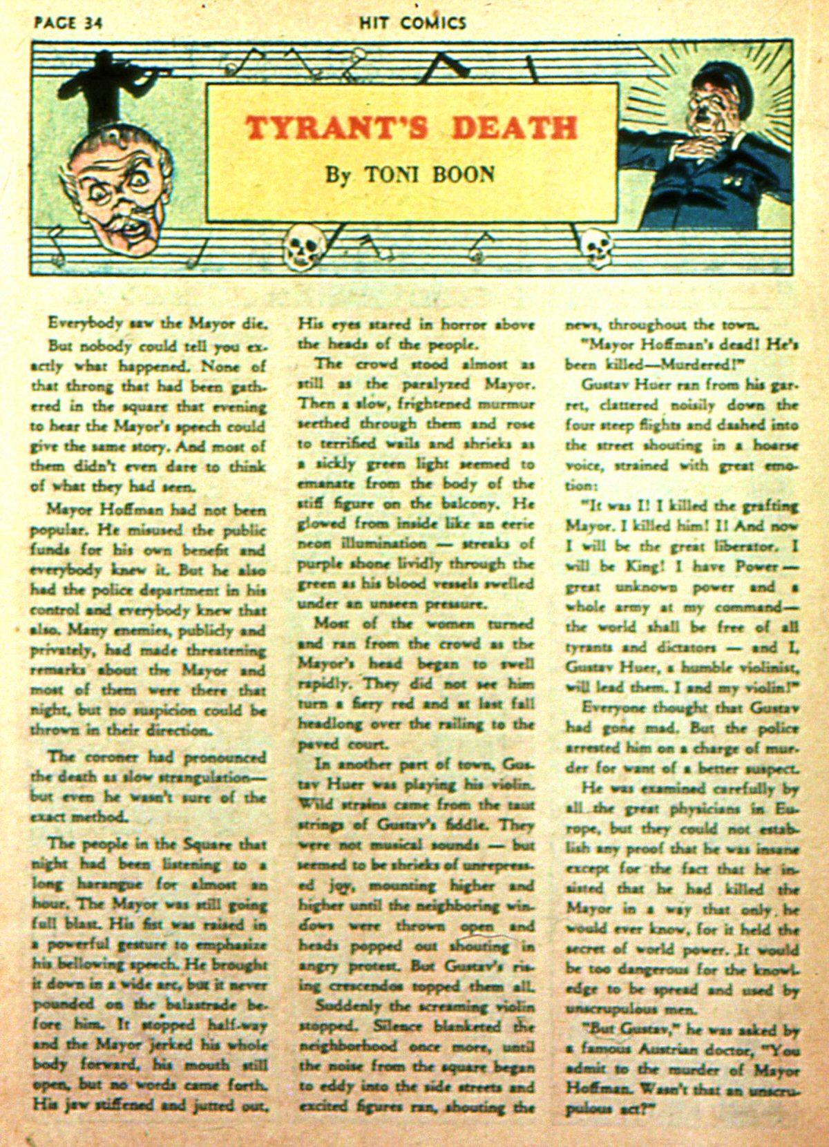 Read online Hit Comics comic -  Issue #2 - 36
