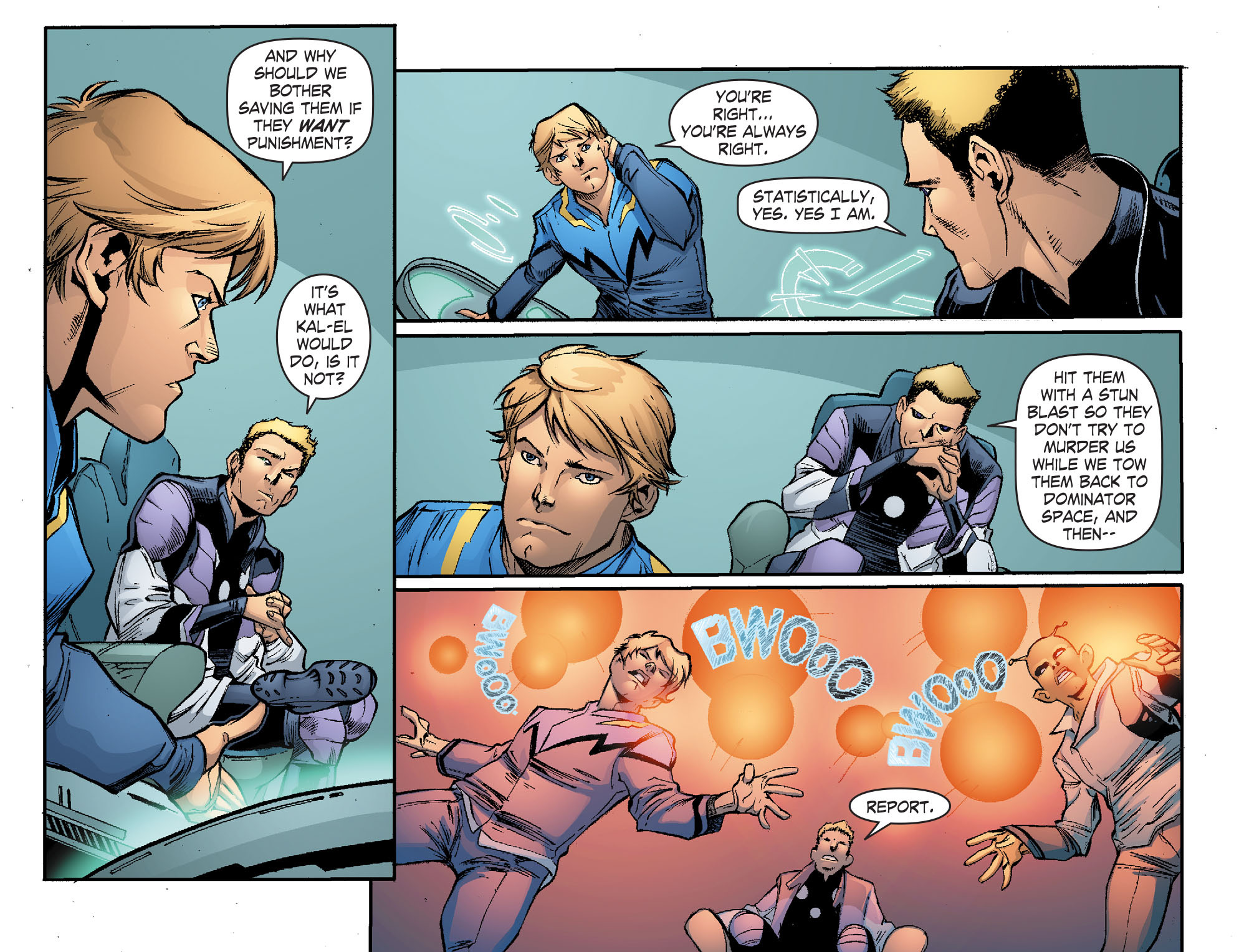 Read online Smallville: Continuity comic -  Issue #1 - 6