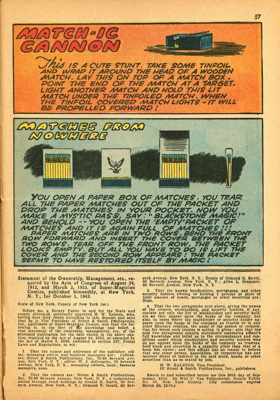 Read online Super-Magician Comics comic -  Issue #9 - 56