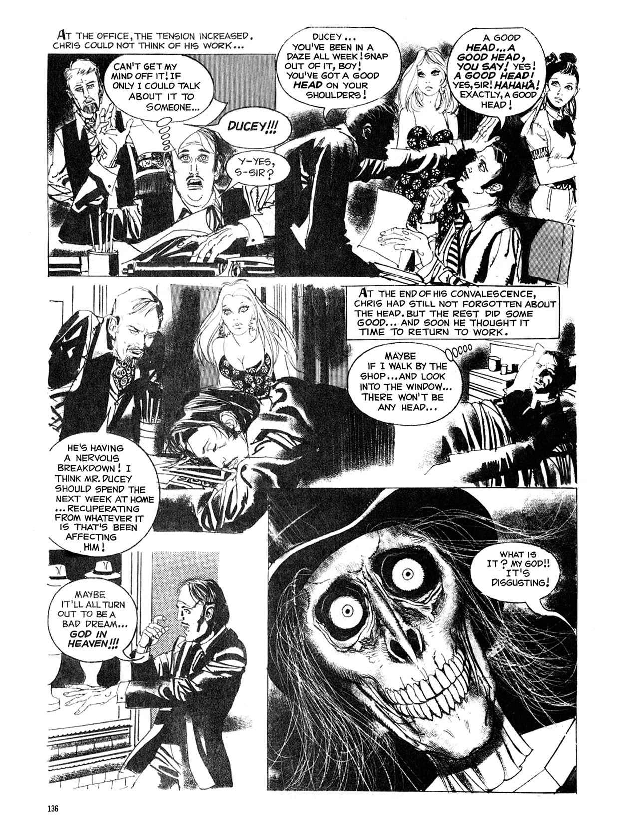 Read online Eerie Archives comic -  Issue # TPB 8 - 137