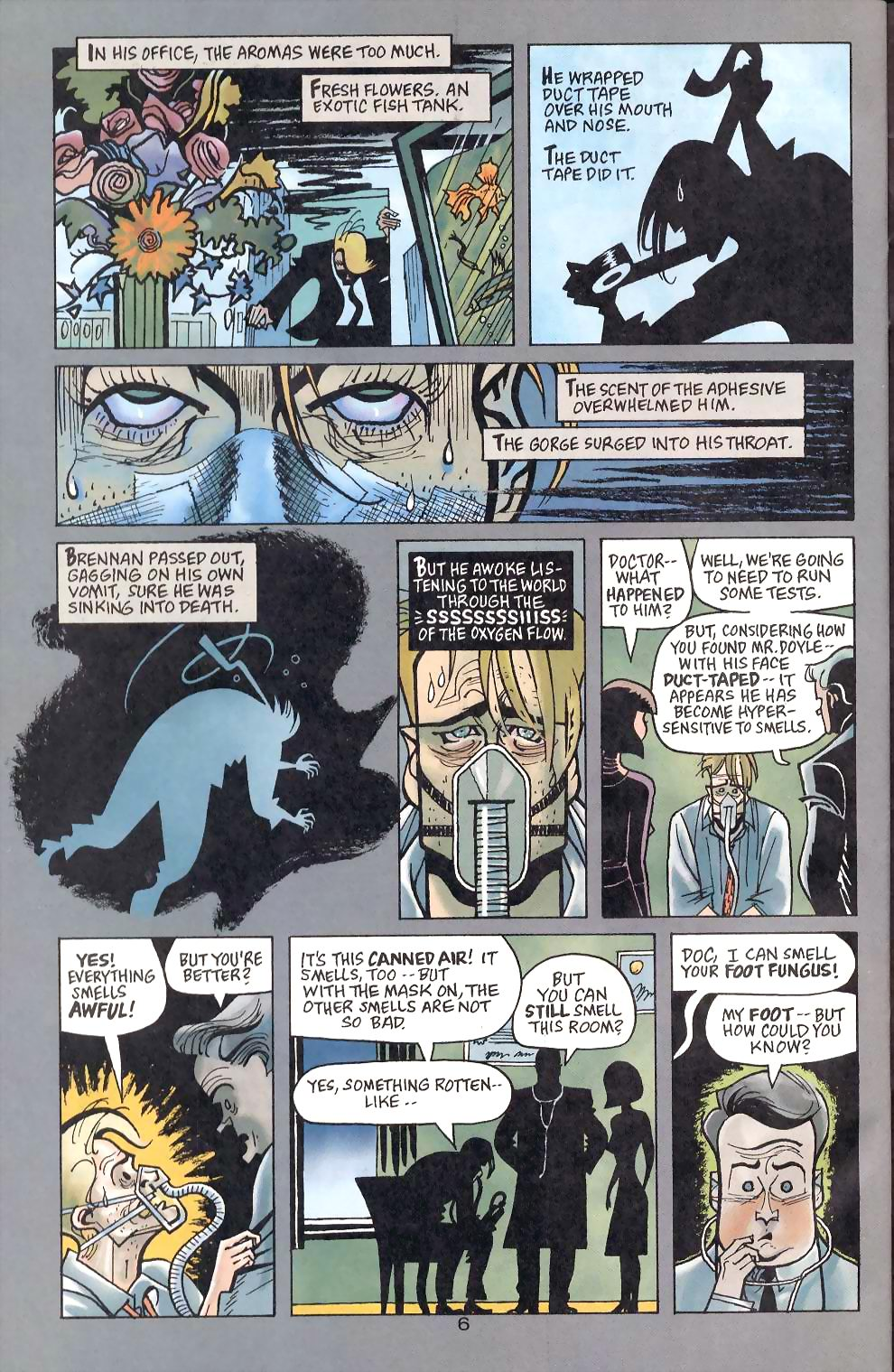 Read online Flinch comic -  Issue #5 - 19