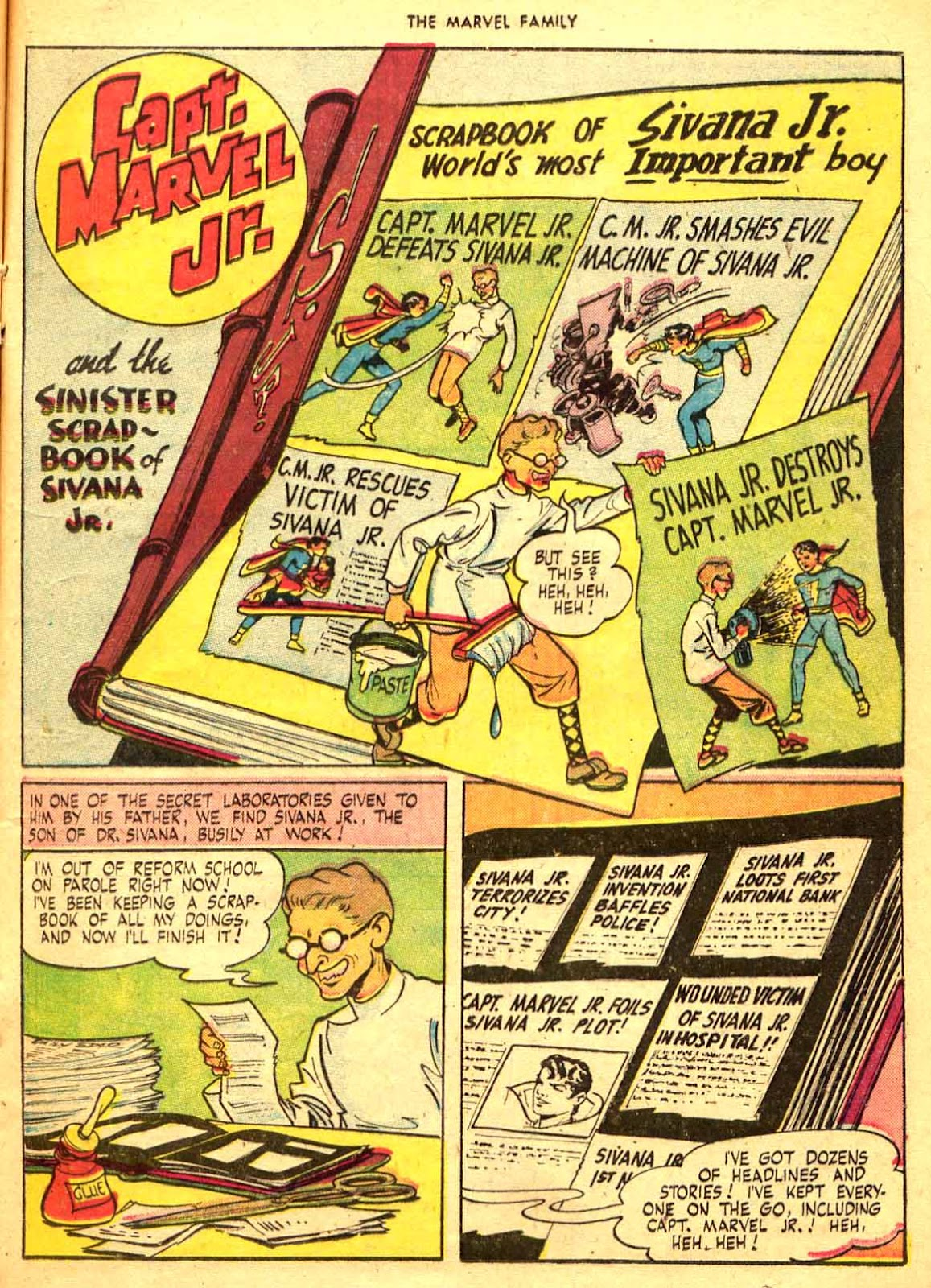 The Marvel Family issue 9 - Page 21