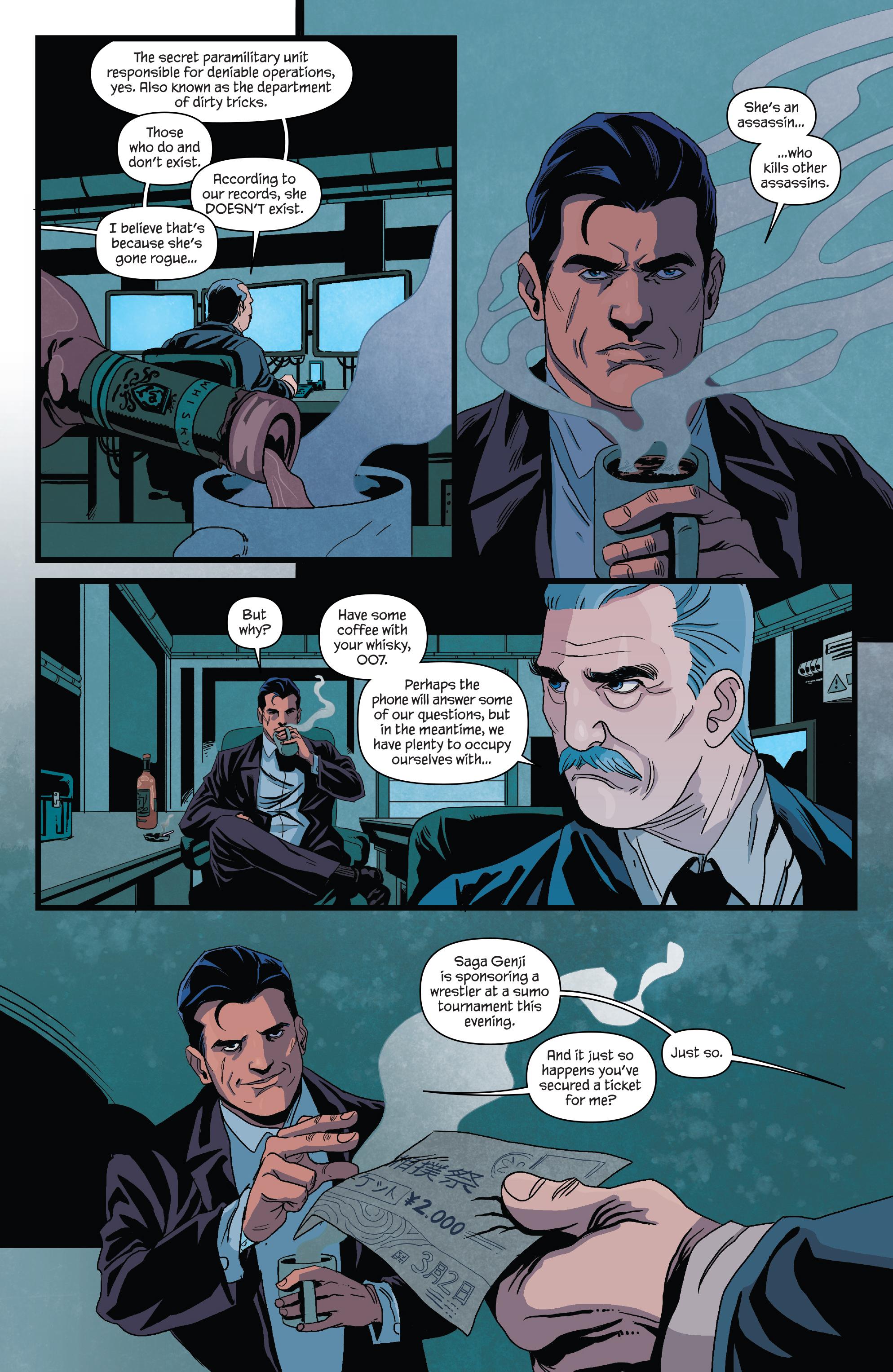 Read online James Bond (2017) comic -  Issue #3 - 8