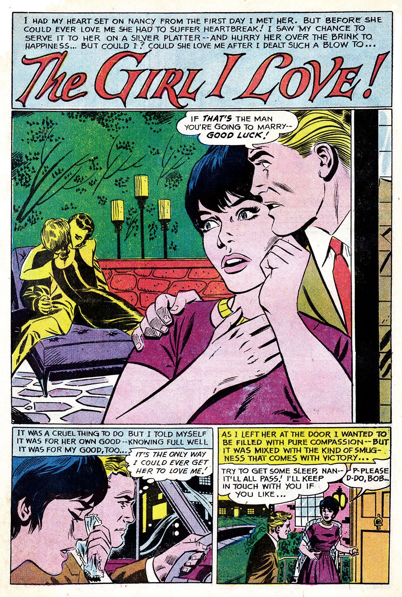 Read online Secret Hearts comic -  Issue #132 - 8