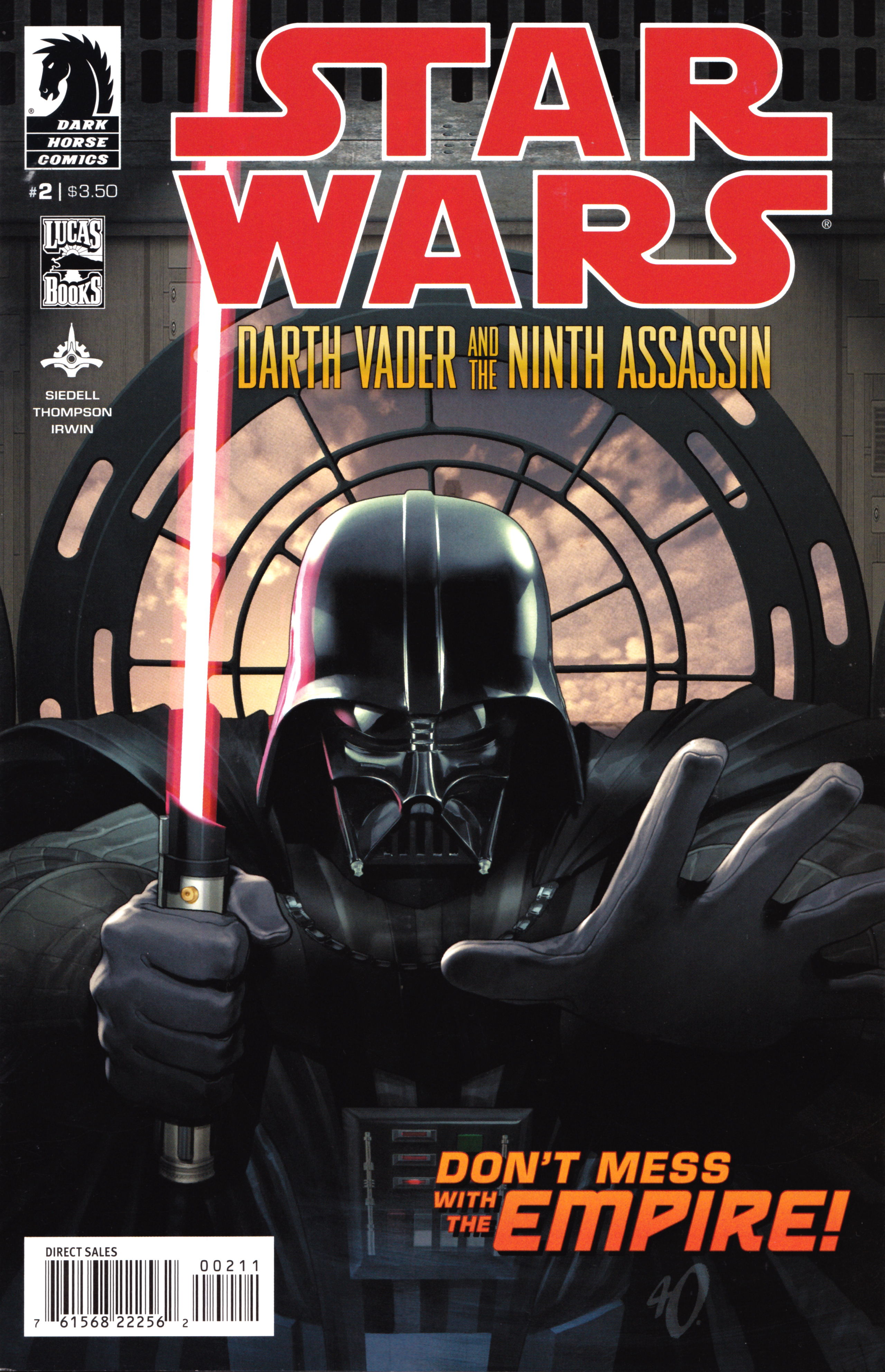 Star Wars: Darth Vader and the Ninth Assassin 2 Page 1