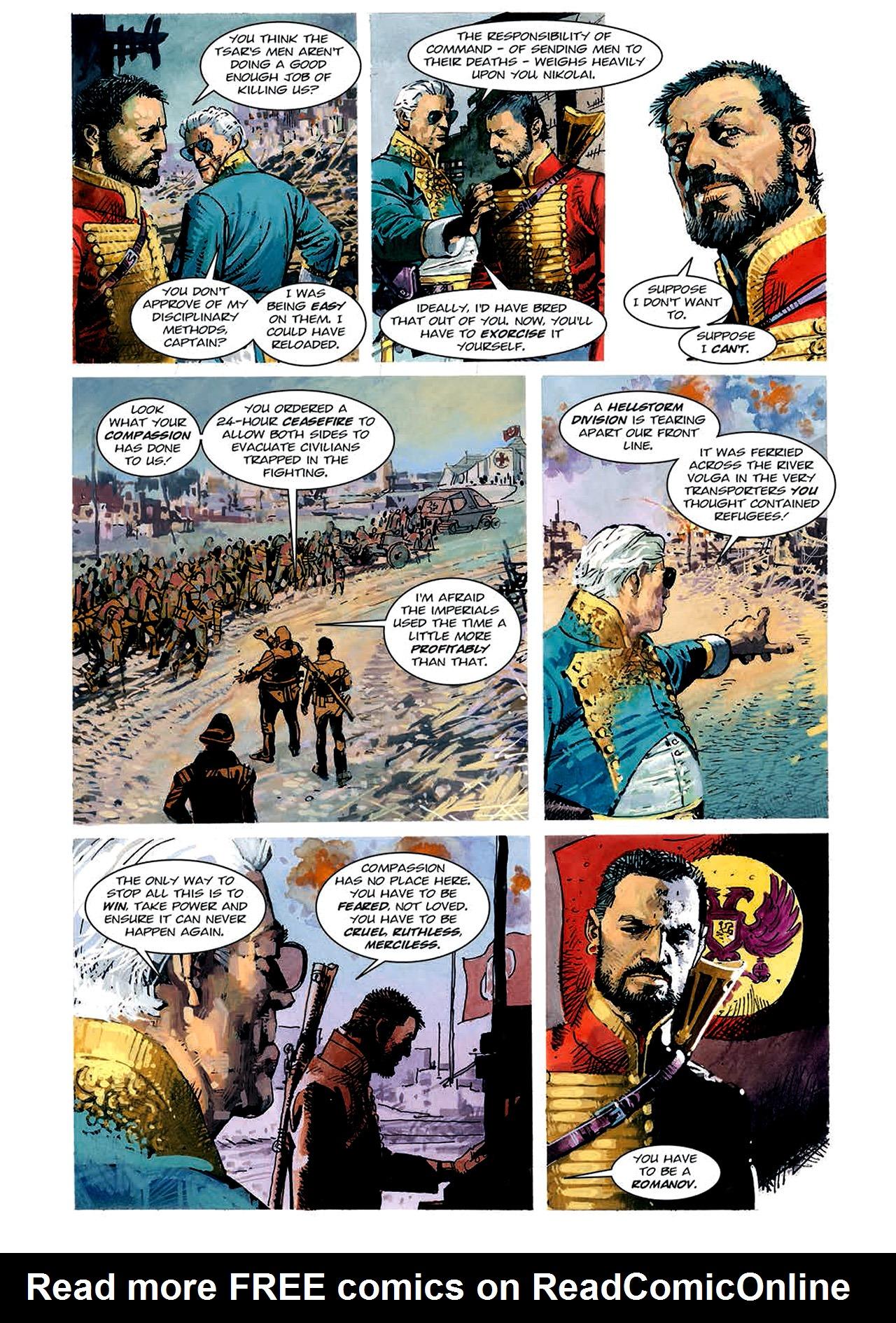 Read online Nikolai Dante comic -  Issue # TPB 4 - 84