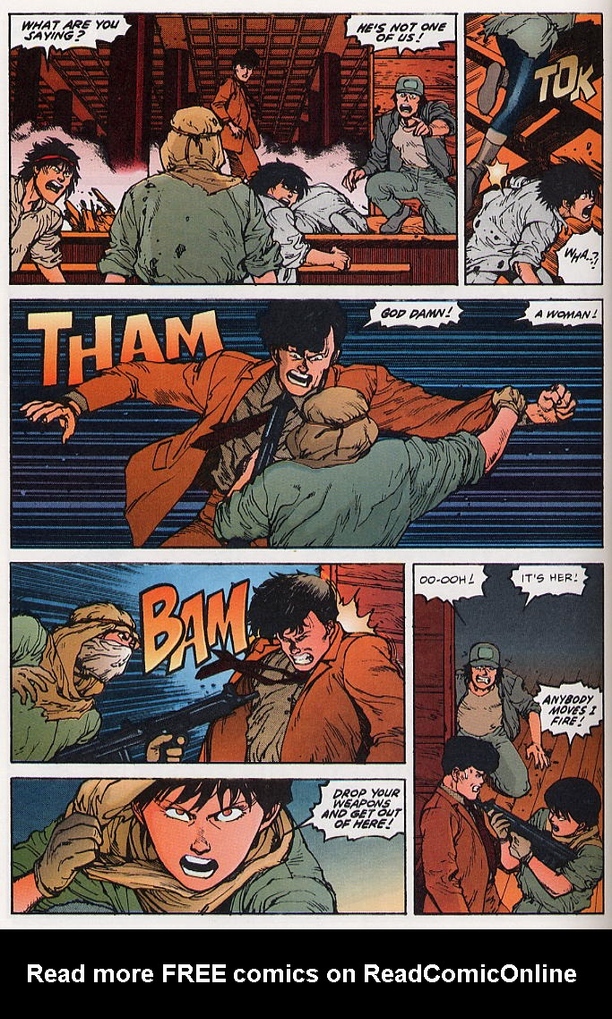 Read online Akira comic -  Issue #22 - 36
