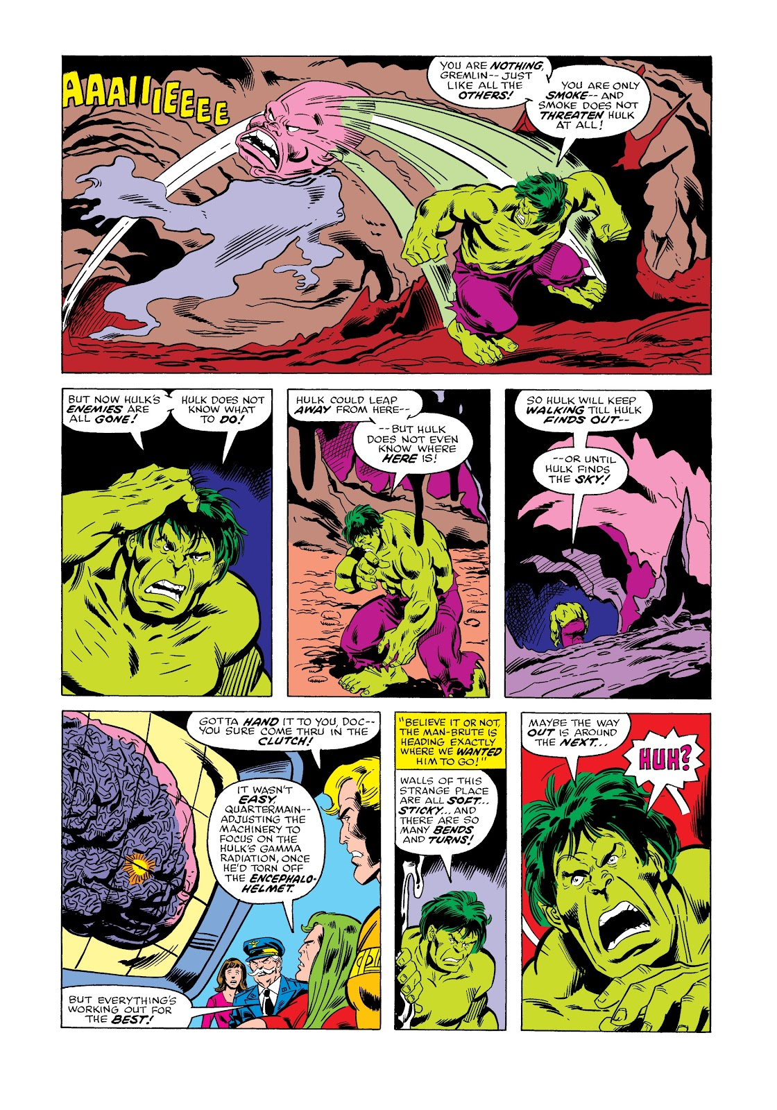 Read online Marvel Masterworks: The Incredible Hulk comic -  Issue # TPB 12 (Part 2) - 15