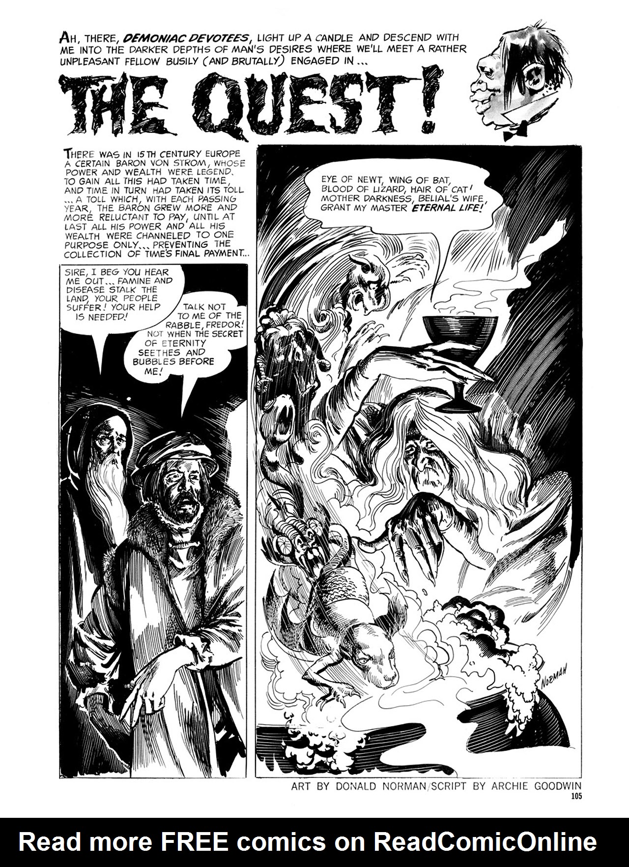 Read online Eerie Archives comic -  Issue # TPB 2 - 106