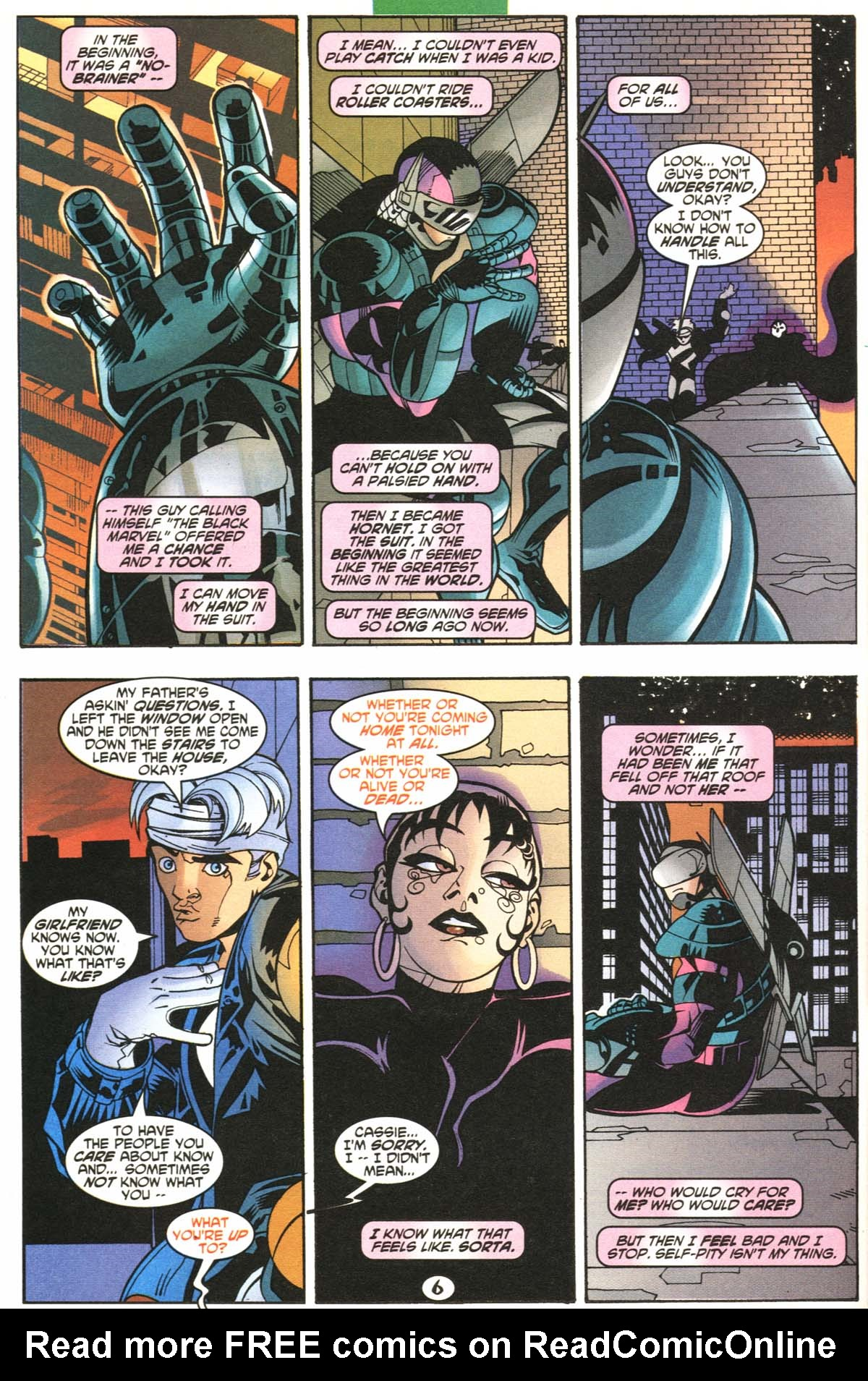 Read online Slingers comic -  Issue #6 - 7