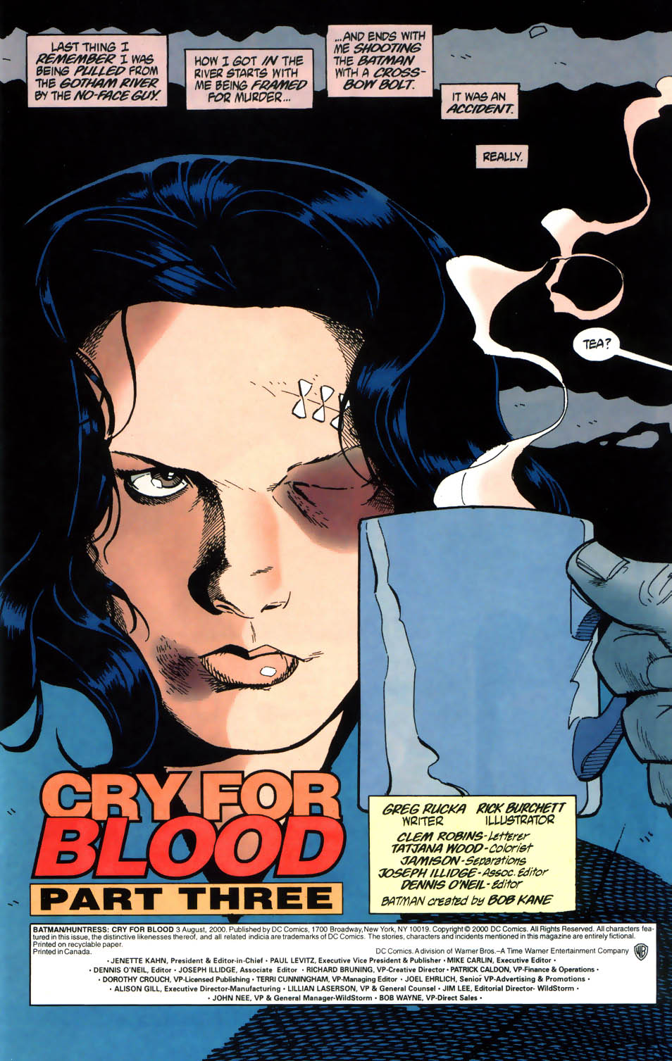 Read online Batman/Huntress: Cry for Blood comic -  Issue #3 - 2
