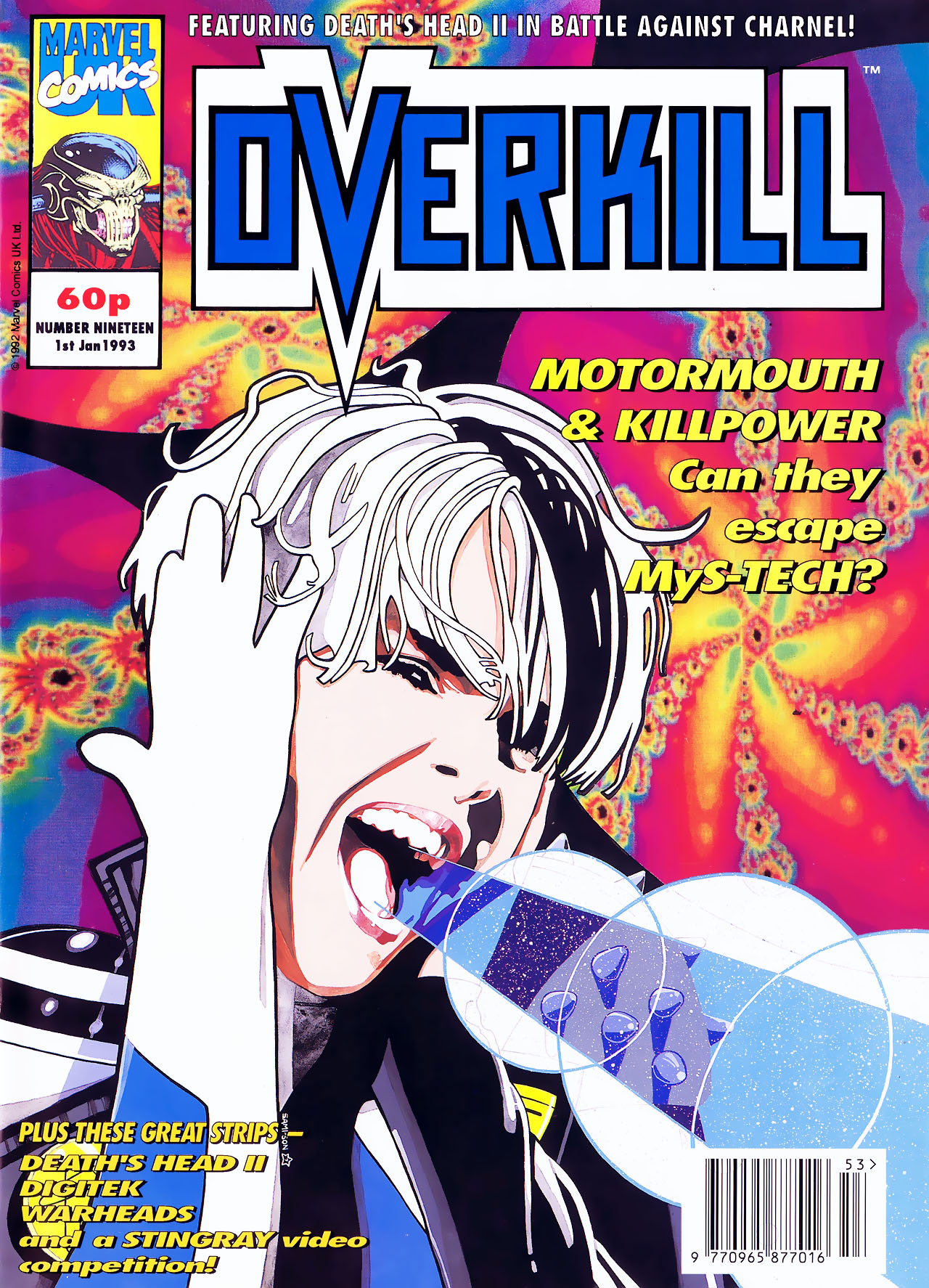 Read online Overkill comic -  Issue #19 - 1