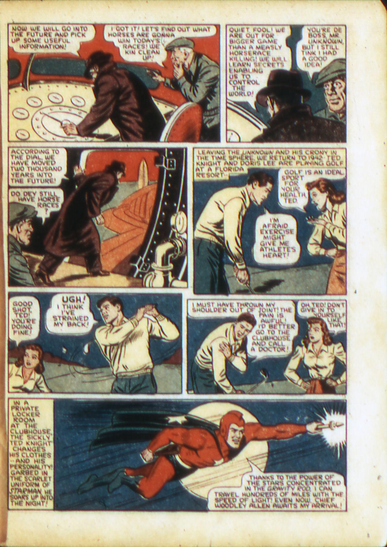 Read online Adventure Comics (1938) comic -  Issue #71 - 6