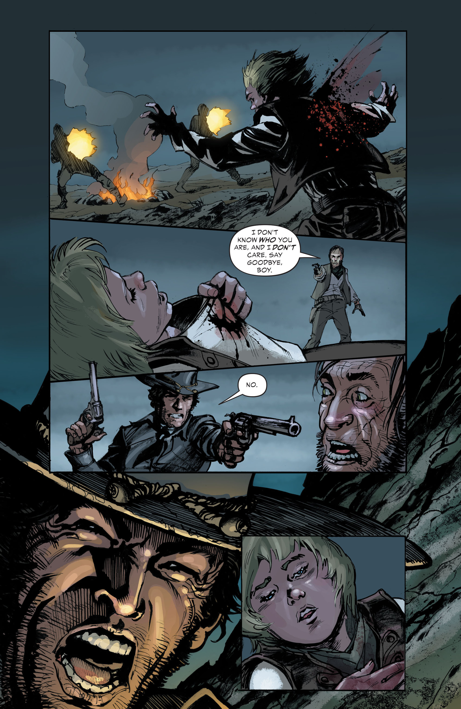 Read online All-Star Western (2011) comic -  Issue #33 - 13