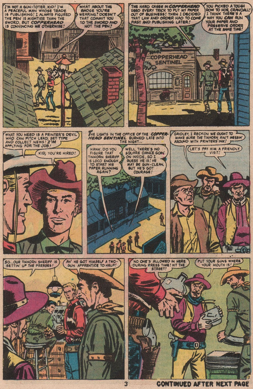 Kid Colt Outlaw issue 210 - Page 5