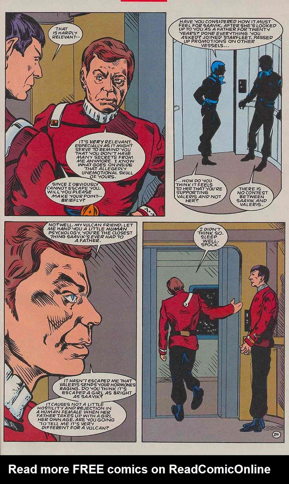 Read online Star Trek (1989) comic -  Issue # _Special 2 - 57