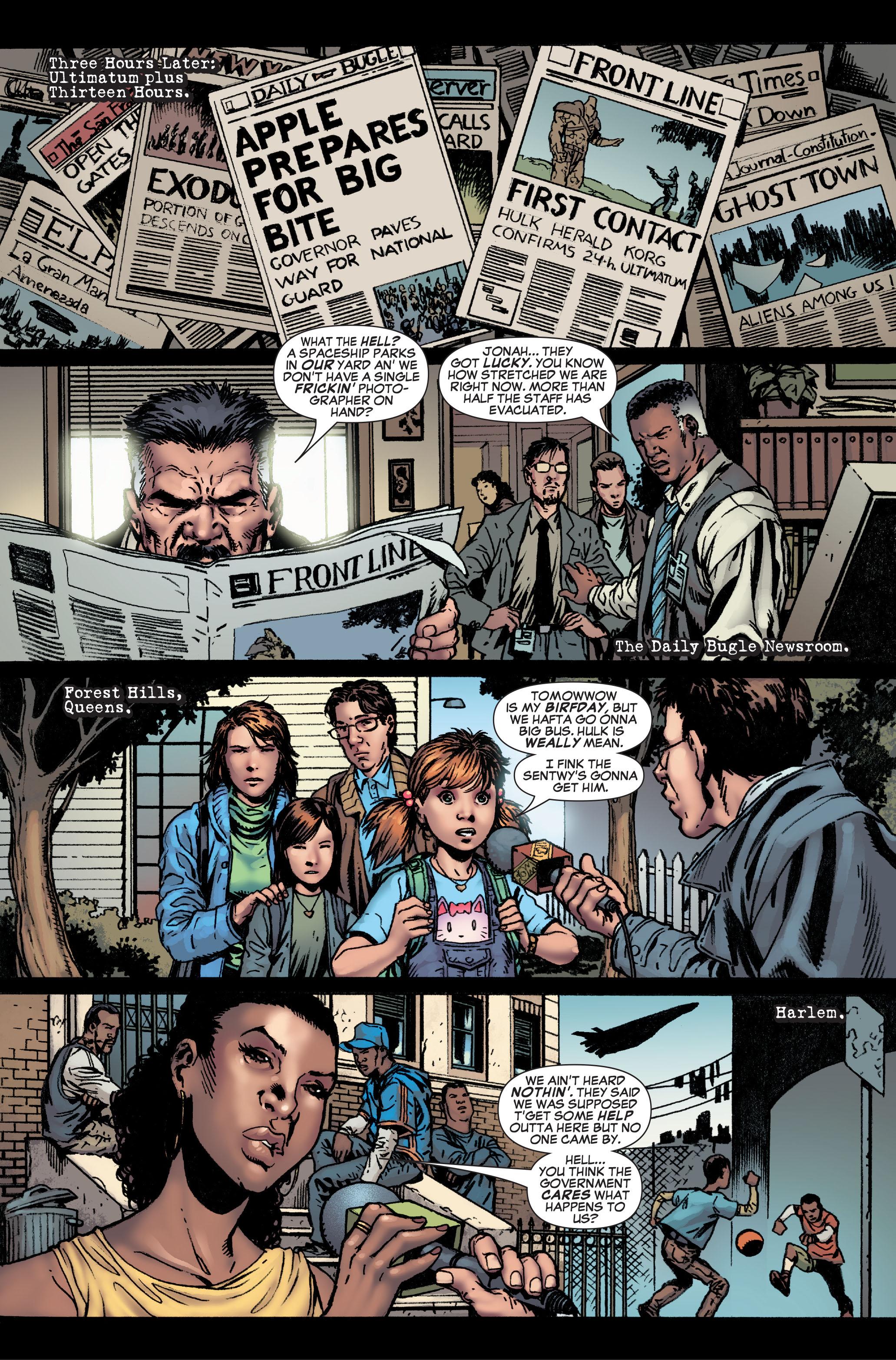 Read online World War Hulk: Front Line comic -  Issue #1 - 16