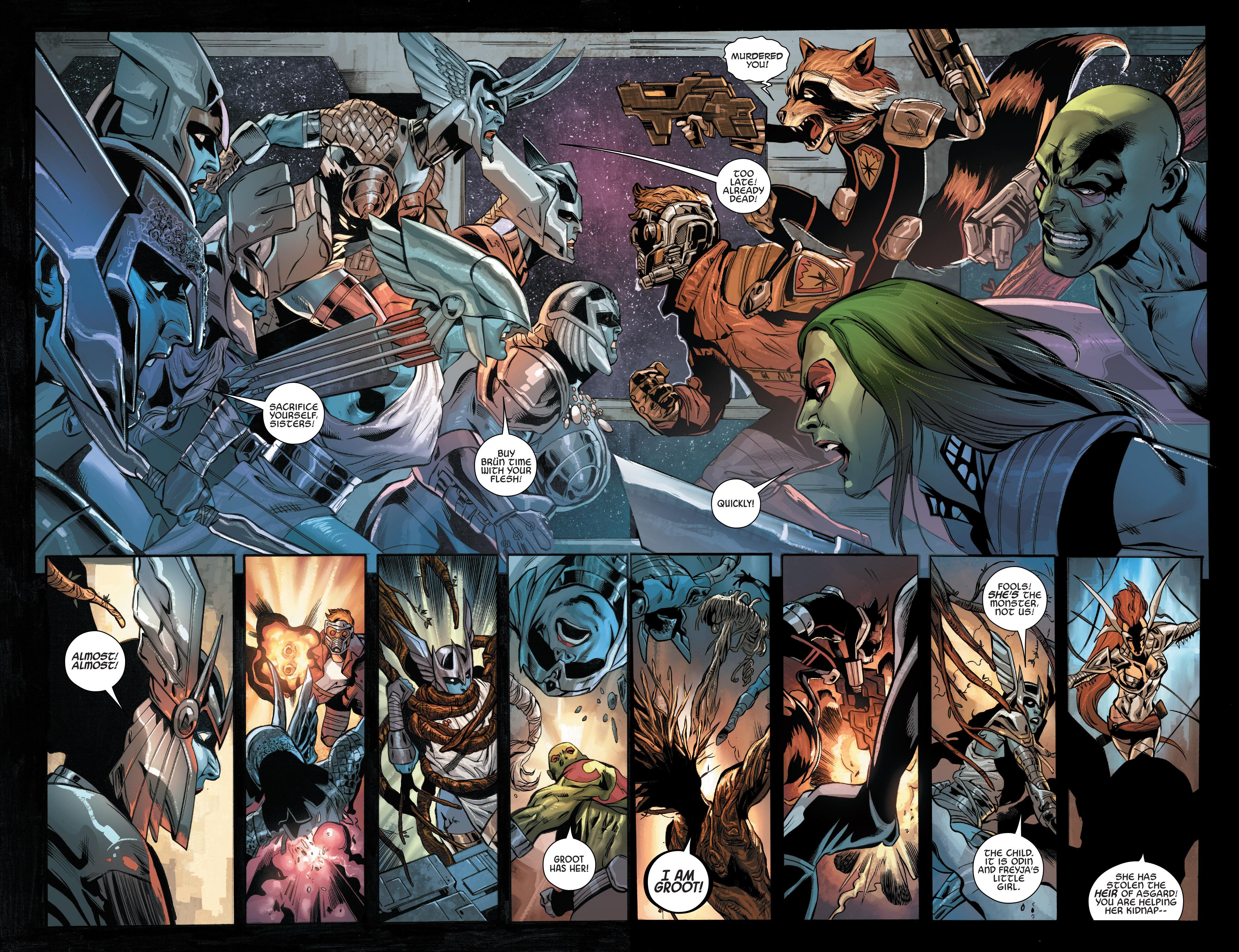 Read online Angela: Asgard's Assassin comic -  Issue #4 - 12