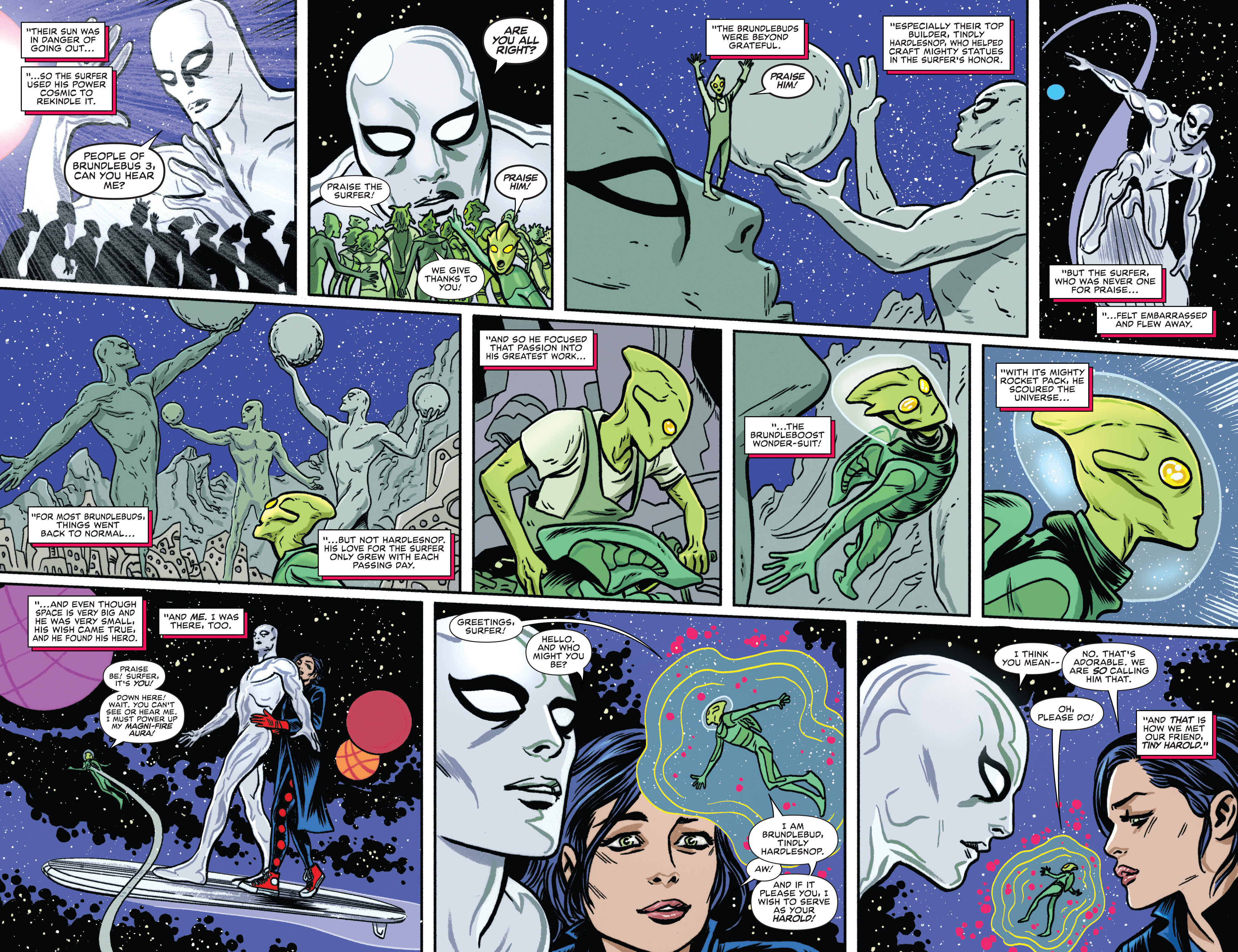 Read online Silver Surfer (2016) comic -  Issue #8 - 8