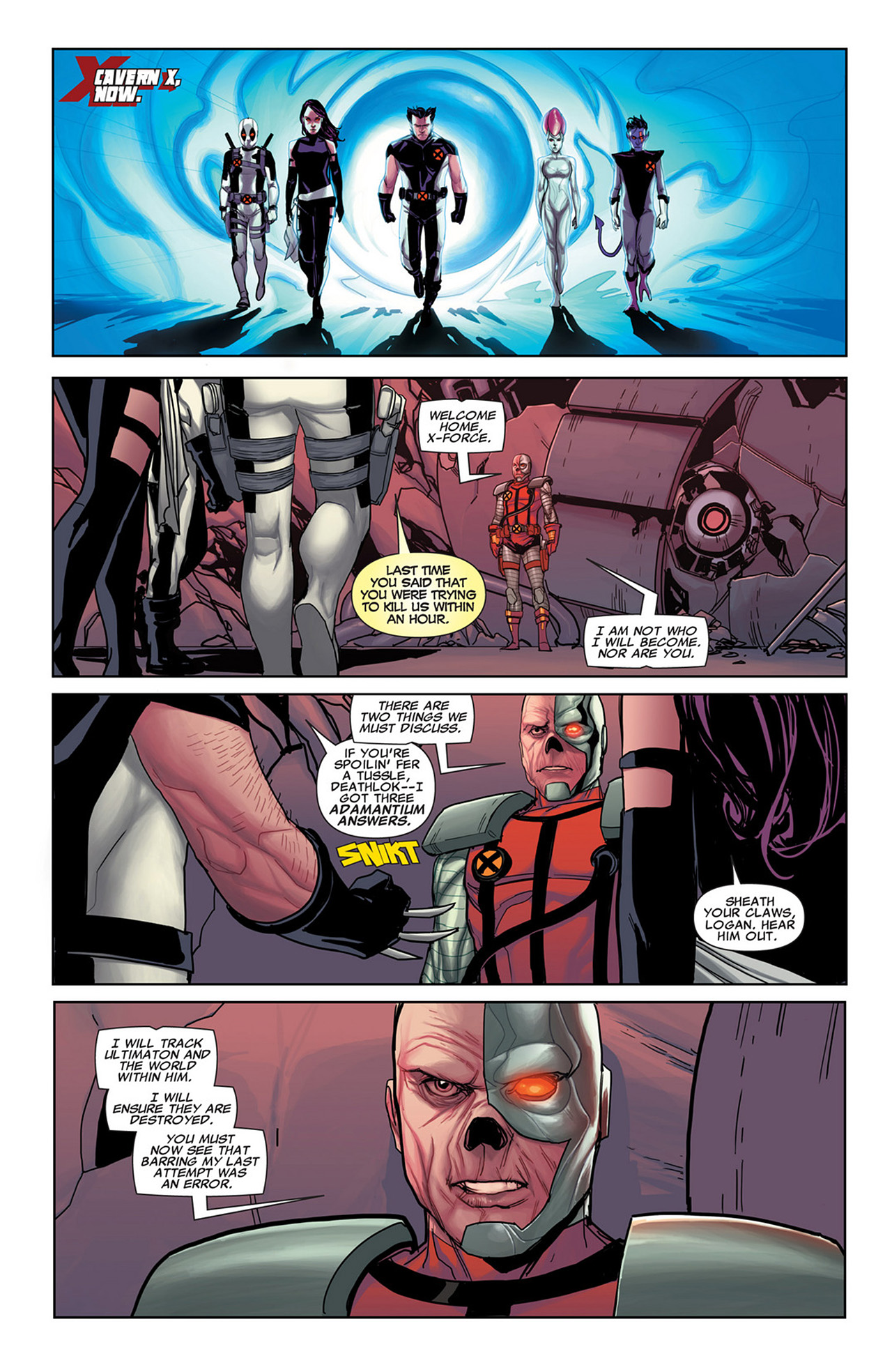 Read online Uncanny X-Force (2010) comic -  Issue #31 - 5