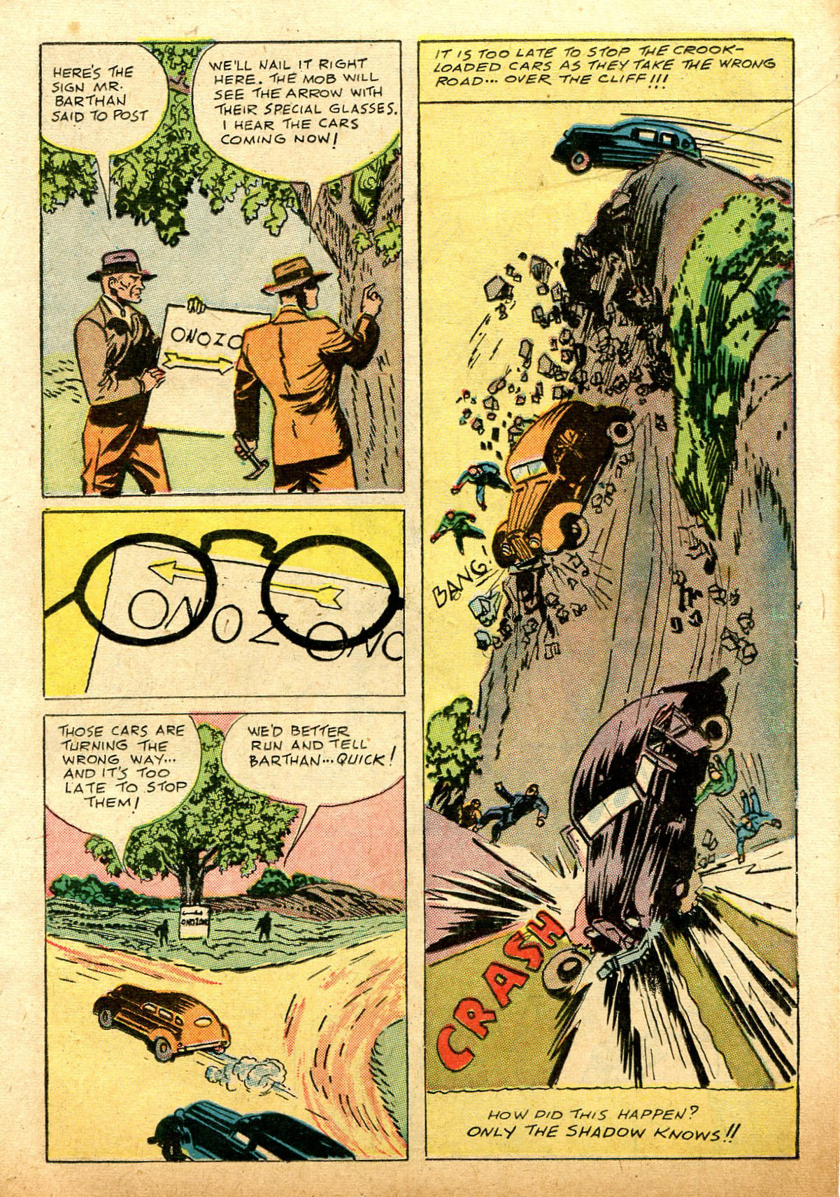 Read online Shadow Comics comic -  Issue #74 - 15