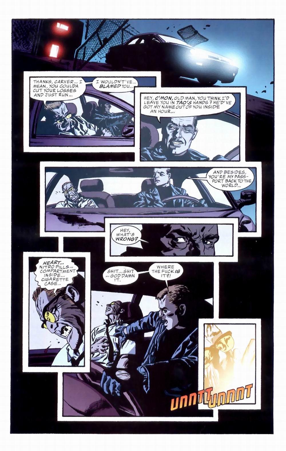 Read online Sleeper comic -  Issue #8 - 21