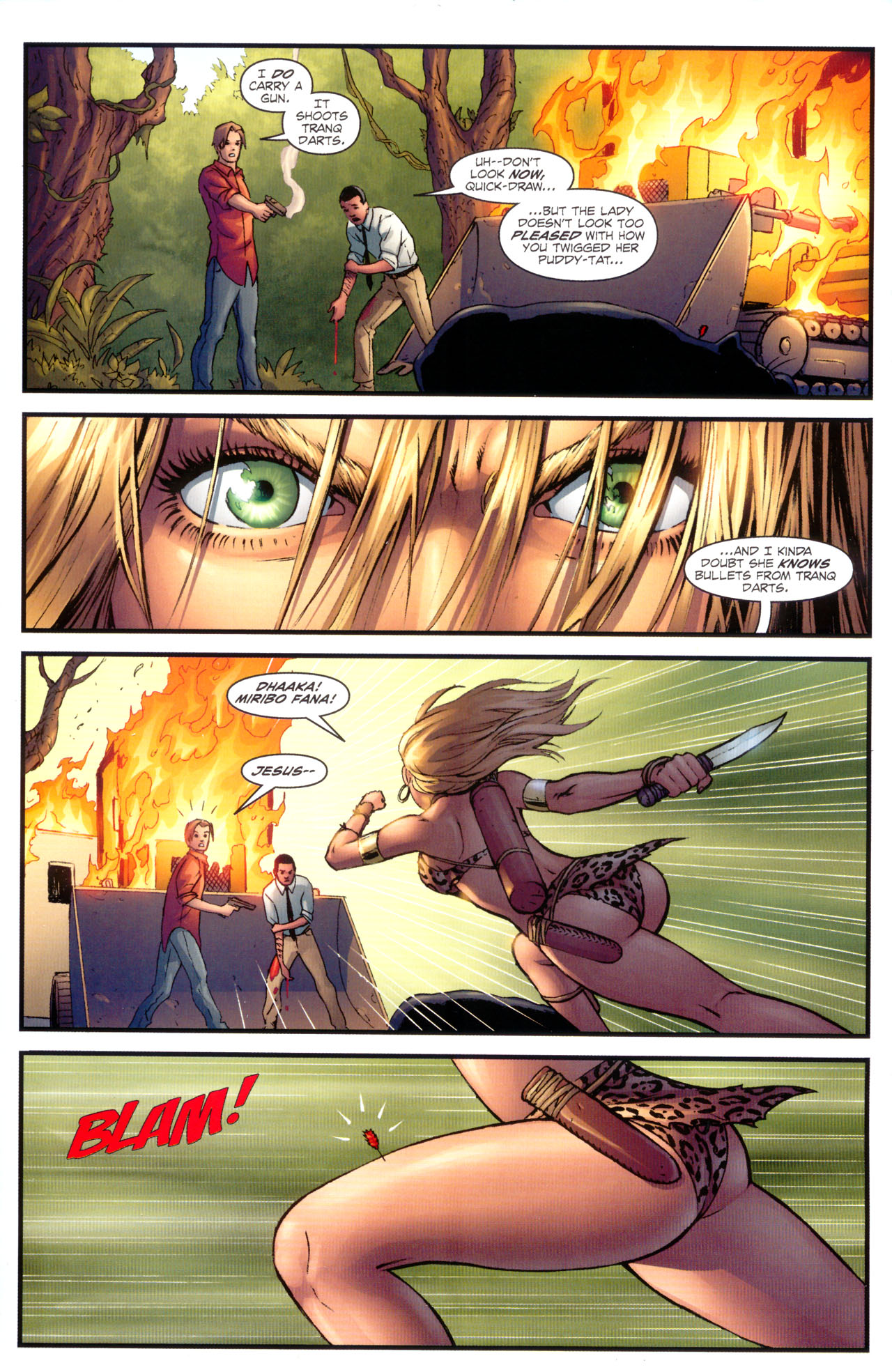 Read online Sheena, Queen of the Jungle comic -  Issue #1 - 13