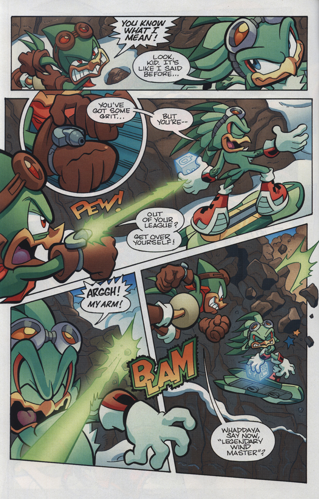 Read online Sonic Universe comic -  Issue #34 - 16