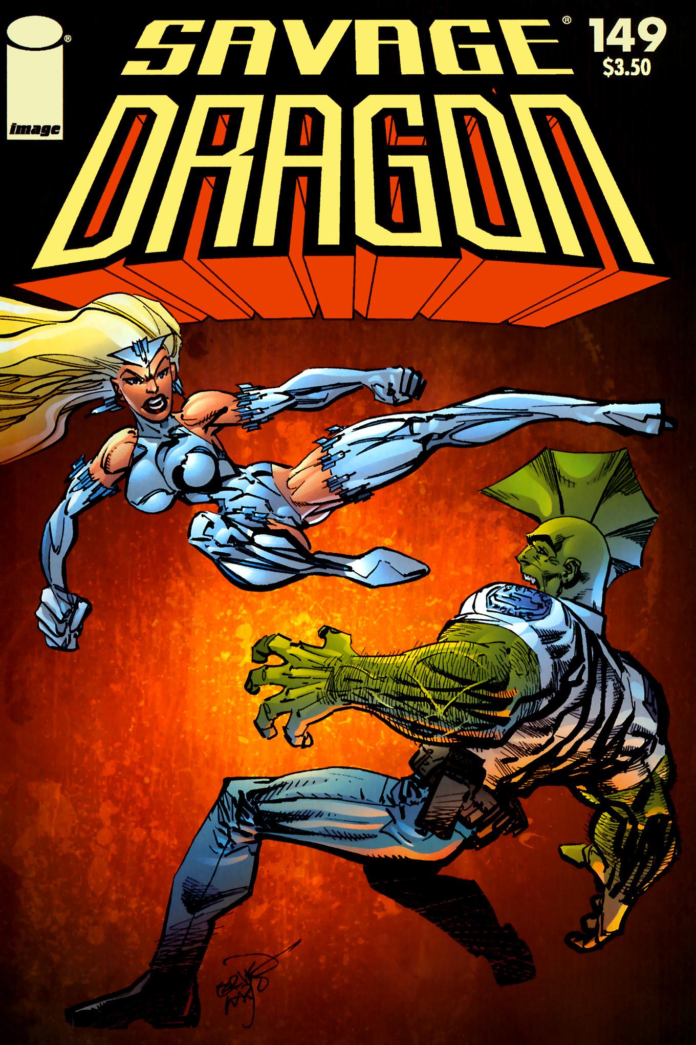 The Savage Dragon (1993) 149 Page 1