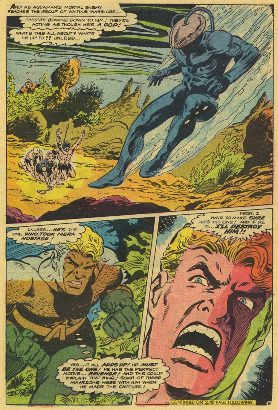 Read online Aquaman (1962) comic -  Issue #42 - 11