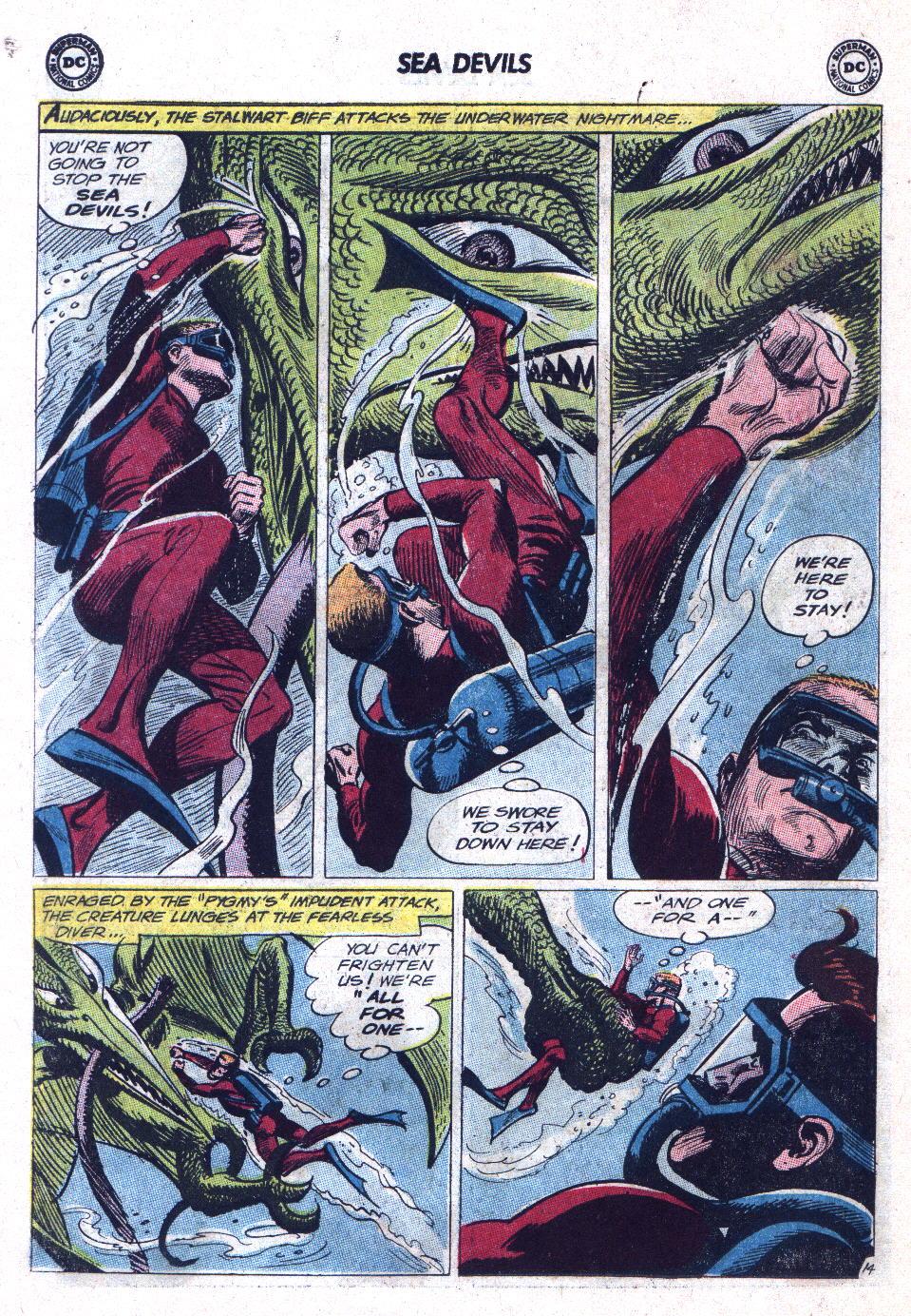 Read online Sea Devils comic -  Issue #11 - 18