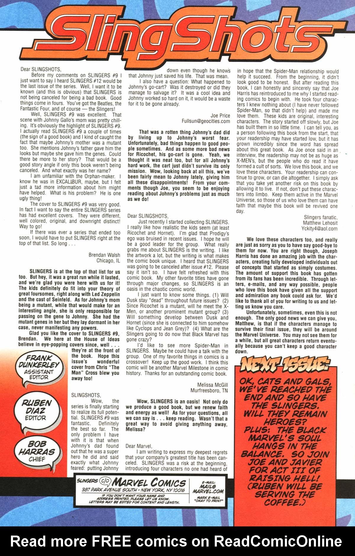 Read online Slingers comic -  Issue #11 - 26